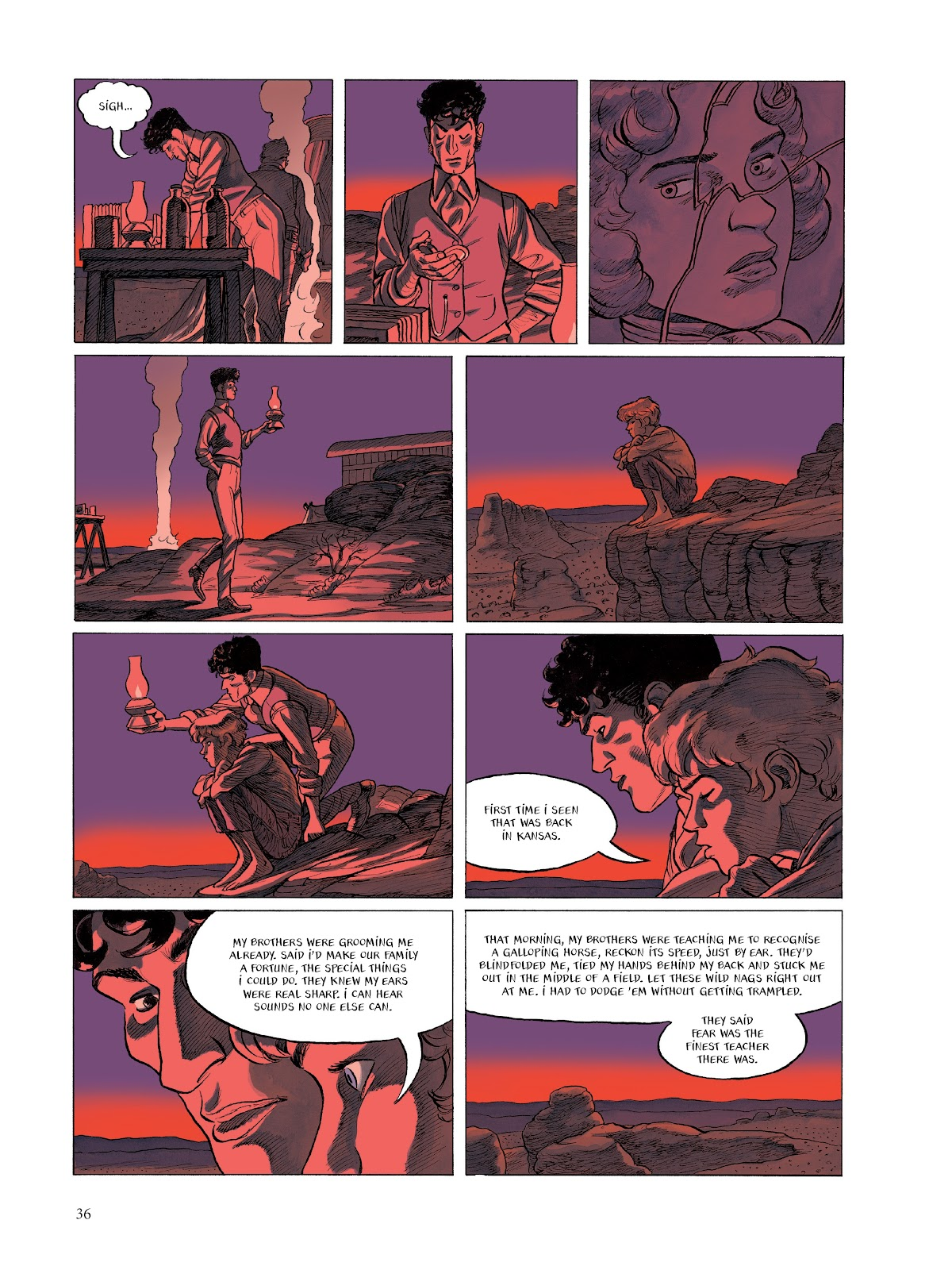 Read online The Smell of Starving Boys comic -  Issue # TPB - 37