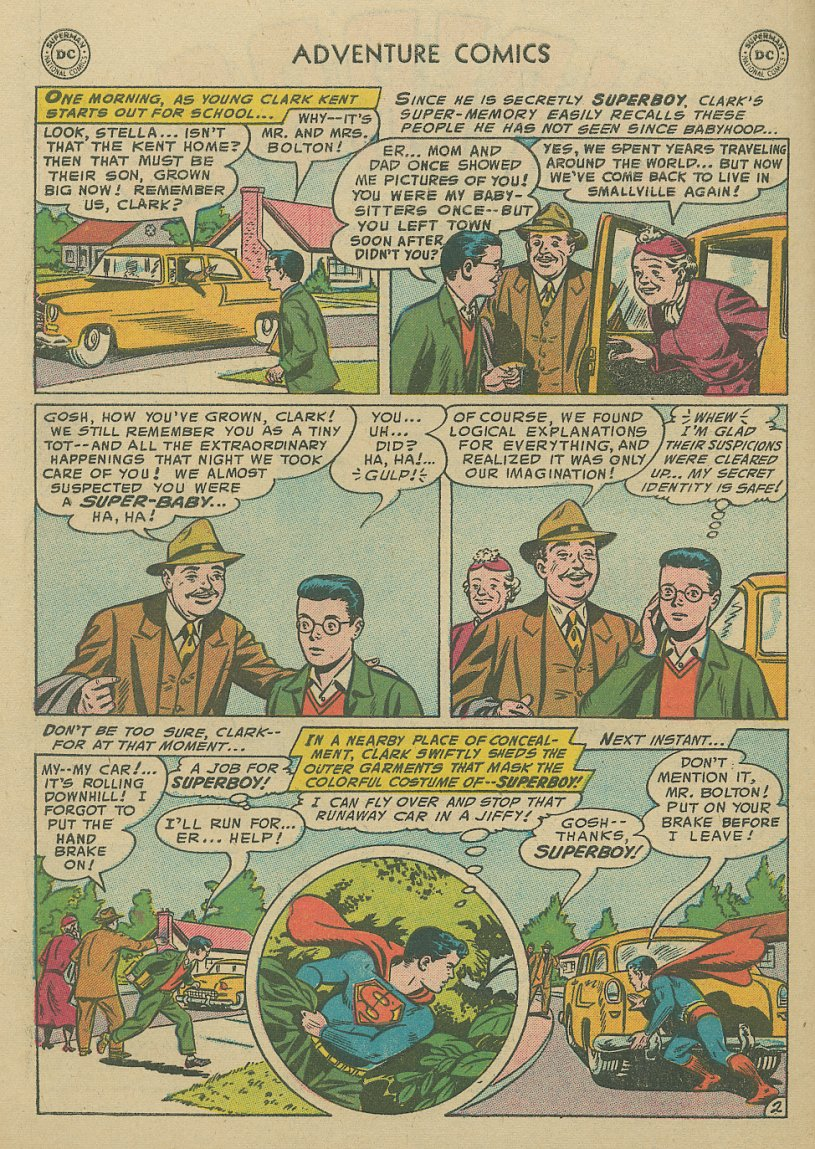 Read online Adventure Comics (1938) comic -  Issue #221 - 3