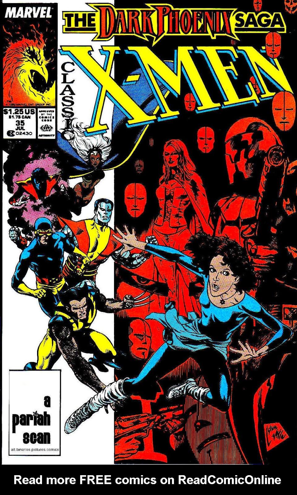 Classic X-Men 35 Page 1
