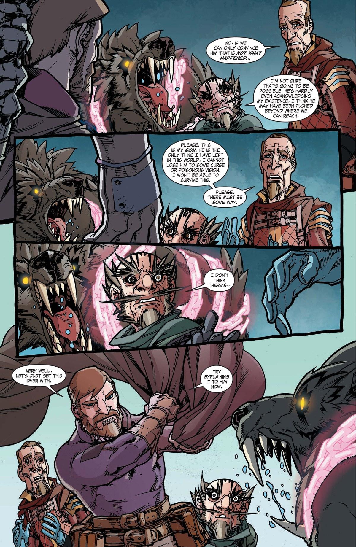 Read online World of Warcraft: Dark Riders comic -  Issue # Full - 131