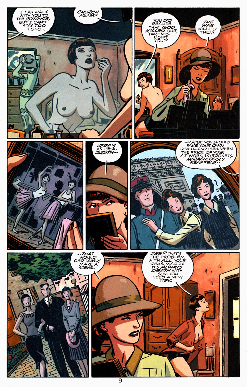 Read online Beware The Creeper (2003) comic -  Issue #1 - 10