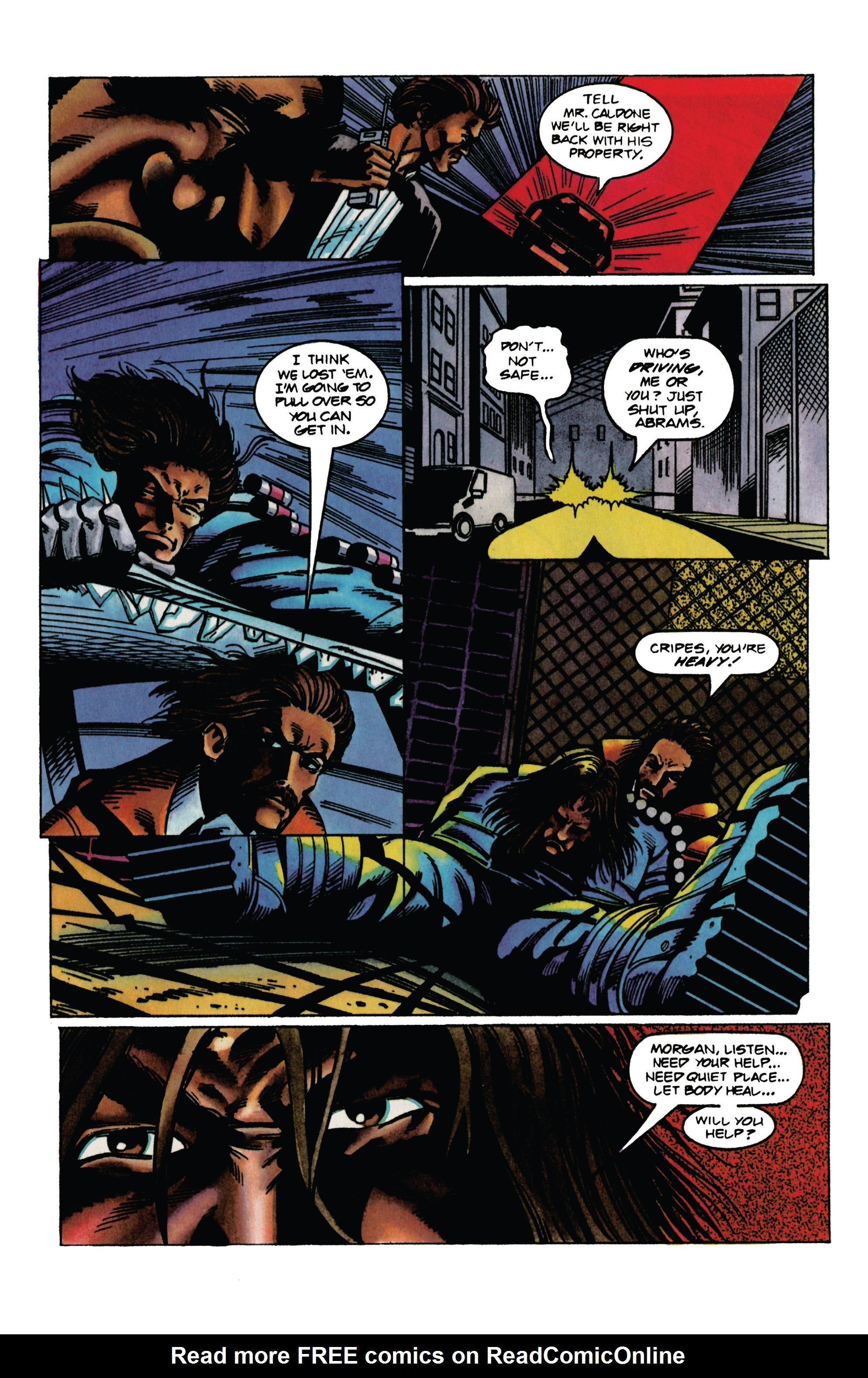 Read online Eternal Warrior (1992) comic -  Issue #30 - 13