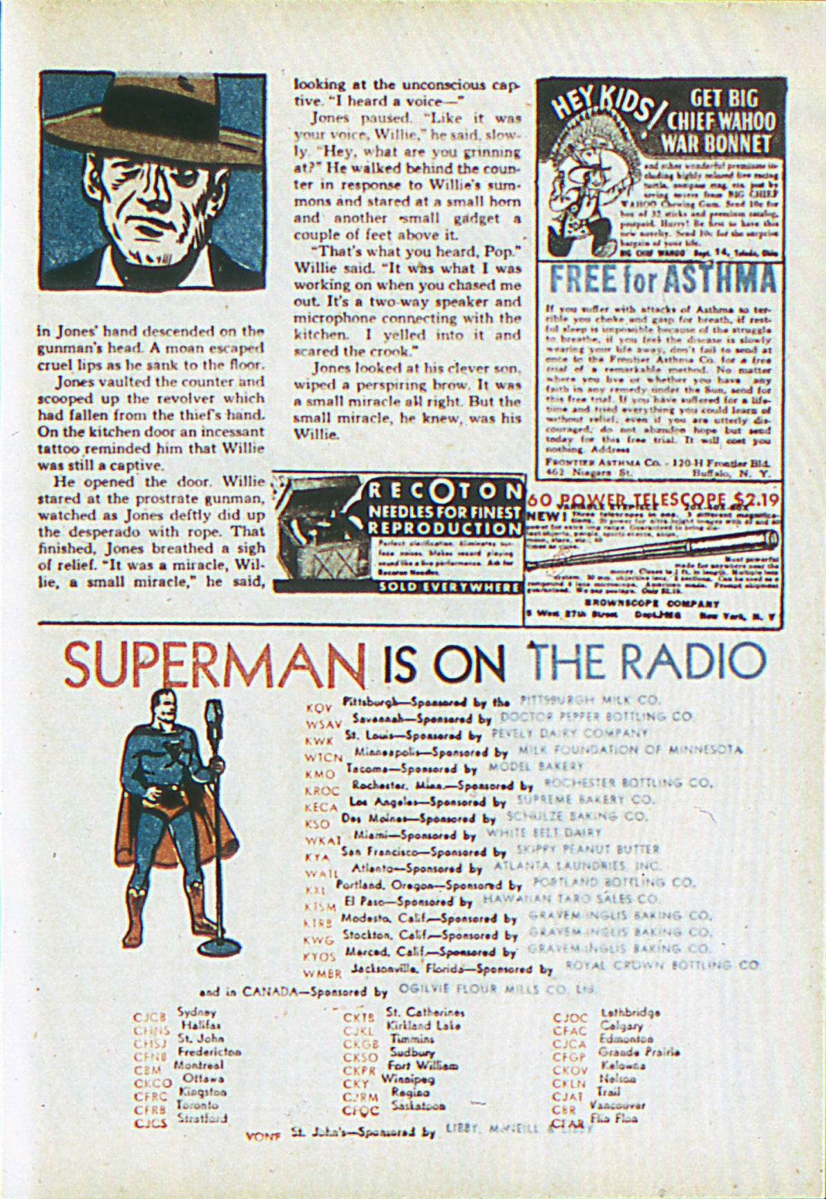 Read online Adventure Comics (1938) comic -  Issue #62 - 56