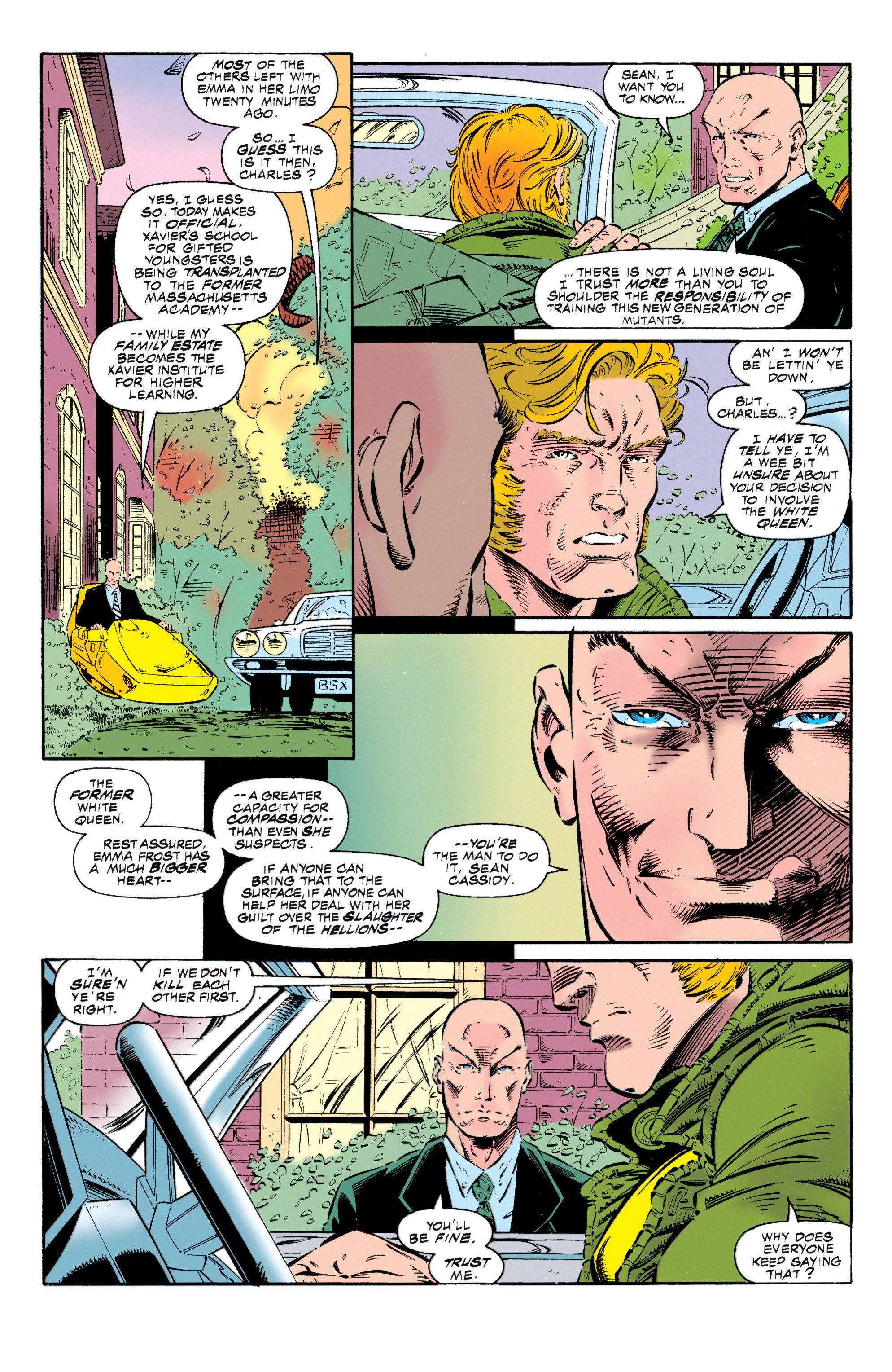 Read online Uncanny X-Men (1963) comic -  Issue #318 - 22