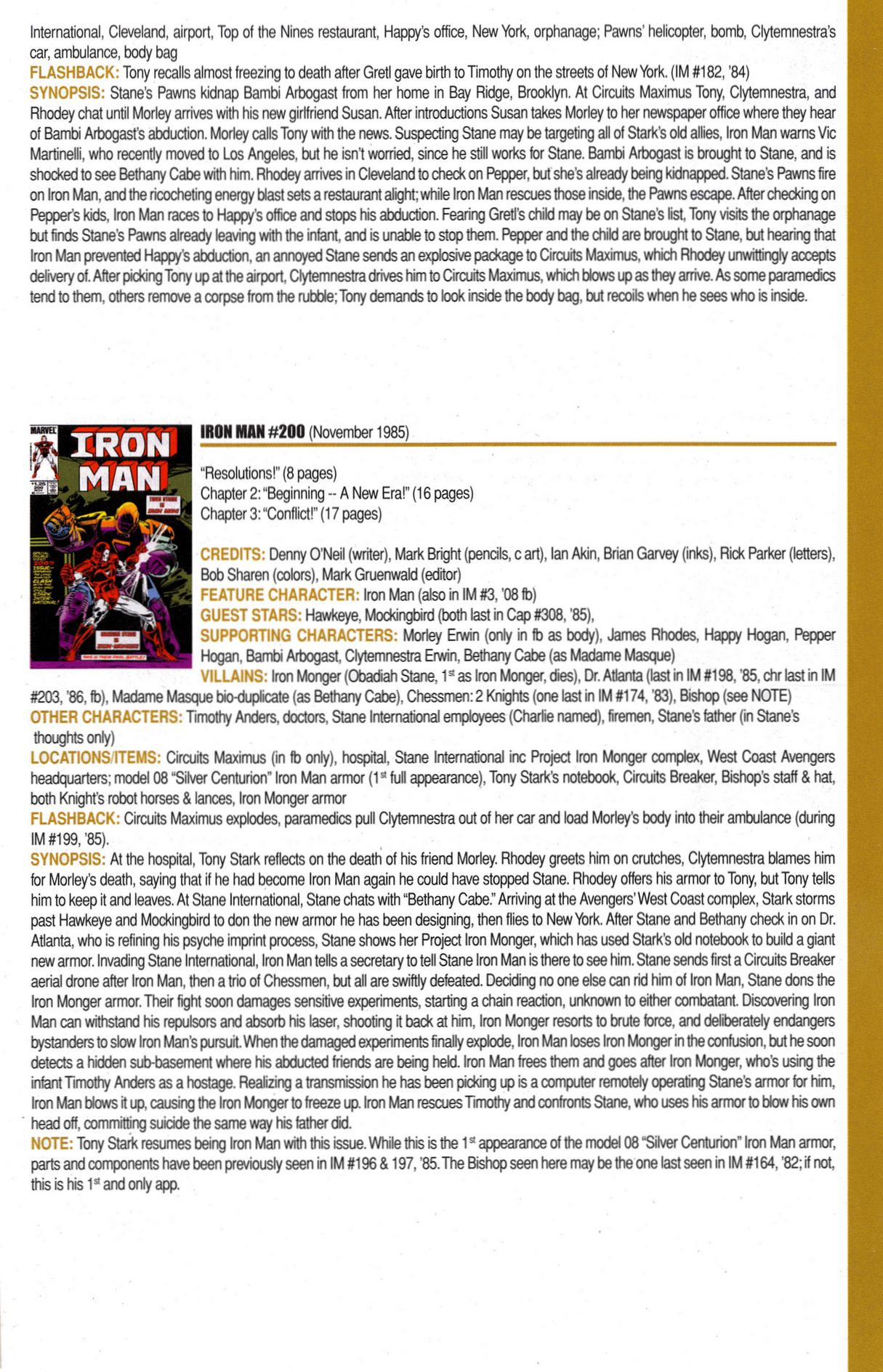 Read online Official Index to the Marvel Universe comic -  Issue #6 - 37
