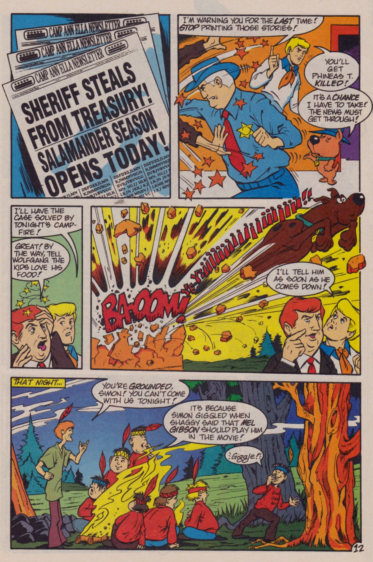Read online Scooby-Doo (1995) comic -  Issue #11 - 14