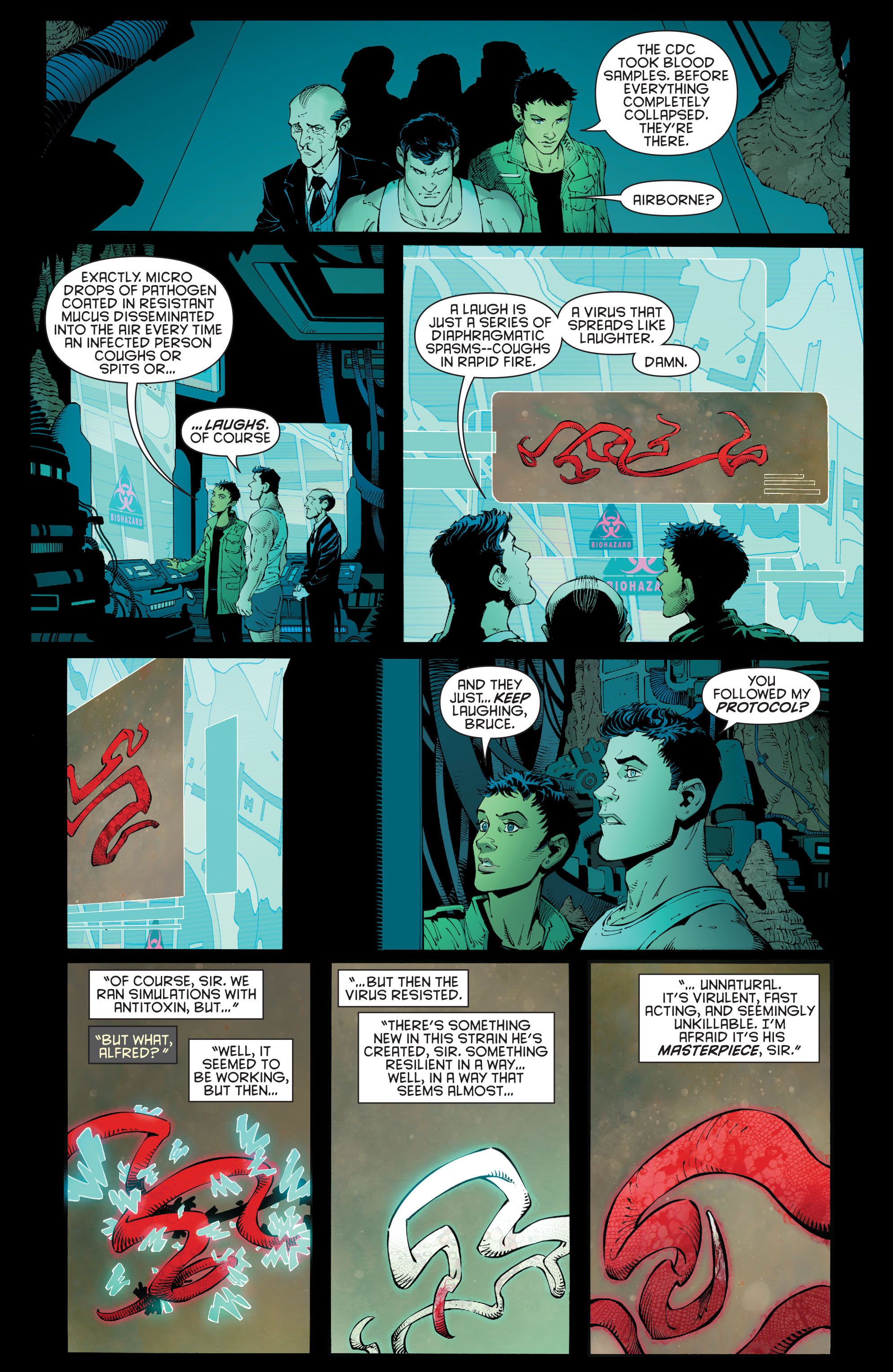 Read online Batman (2011) comic -  Issue # _TPB 7 - 57