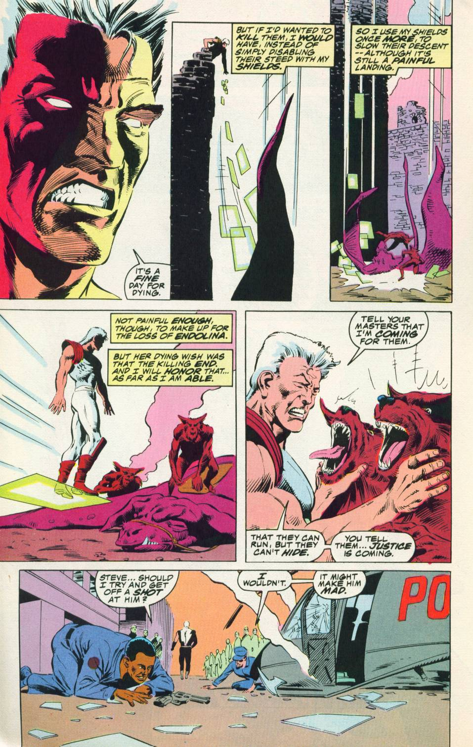 Read online Justice (1986) comic -  Issue #22 - 5