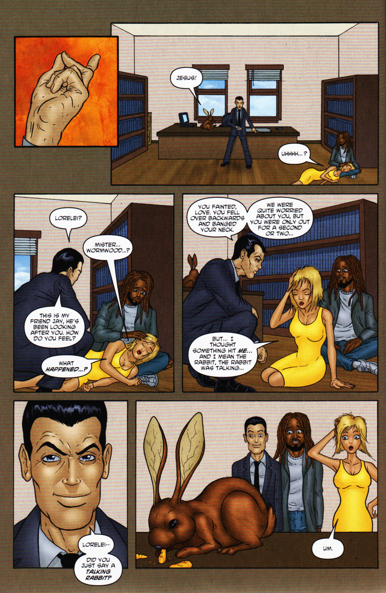 Read online Chronicles of Wormwood: The Last Enemy comic -  Issue # Full - 38