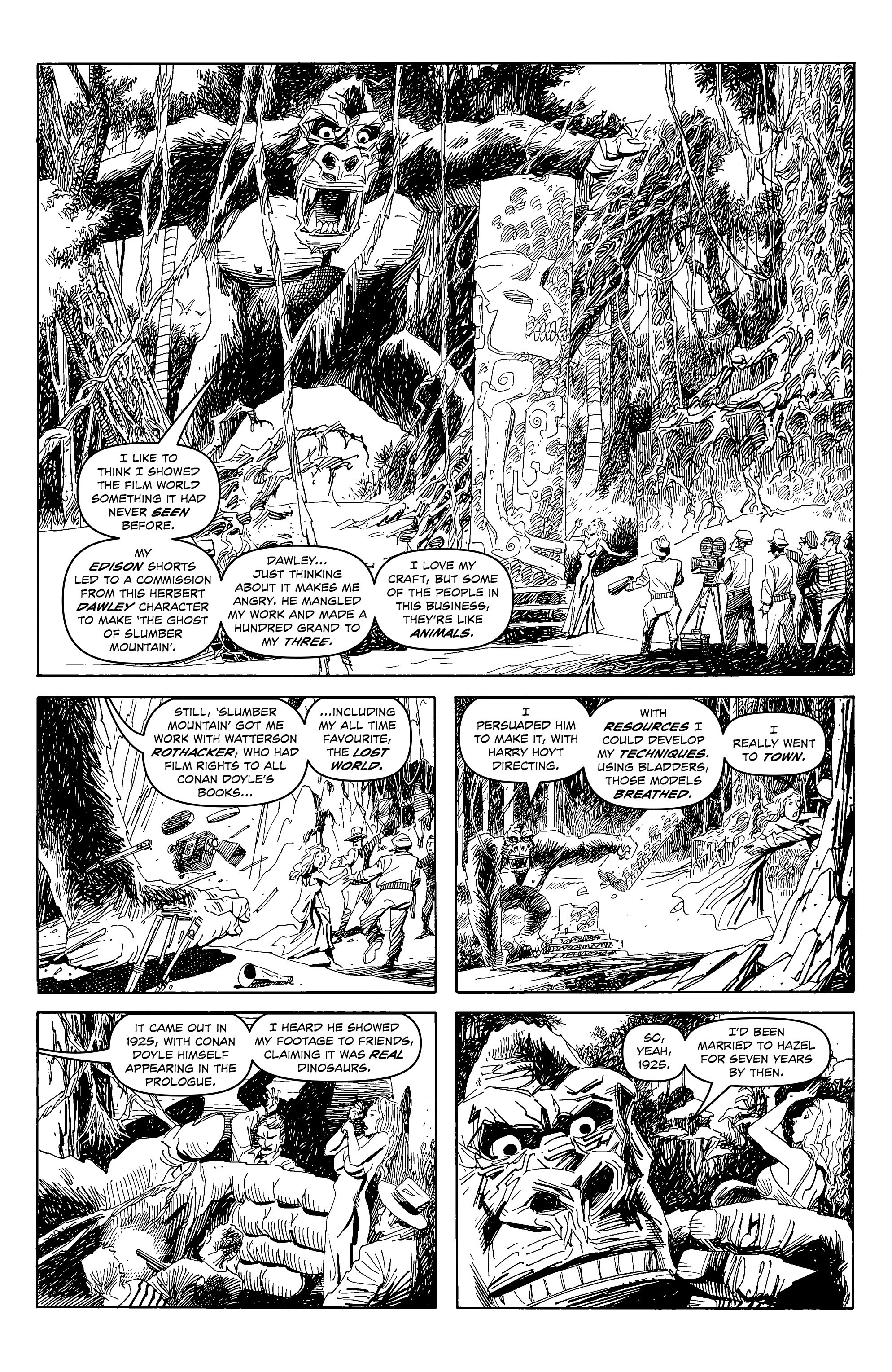 Read online Alan Moore's Cinema Purgatorio comic -  Issue #4 - 8