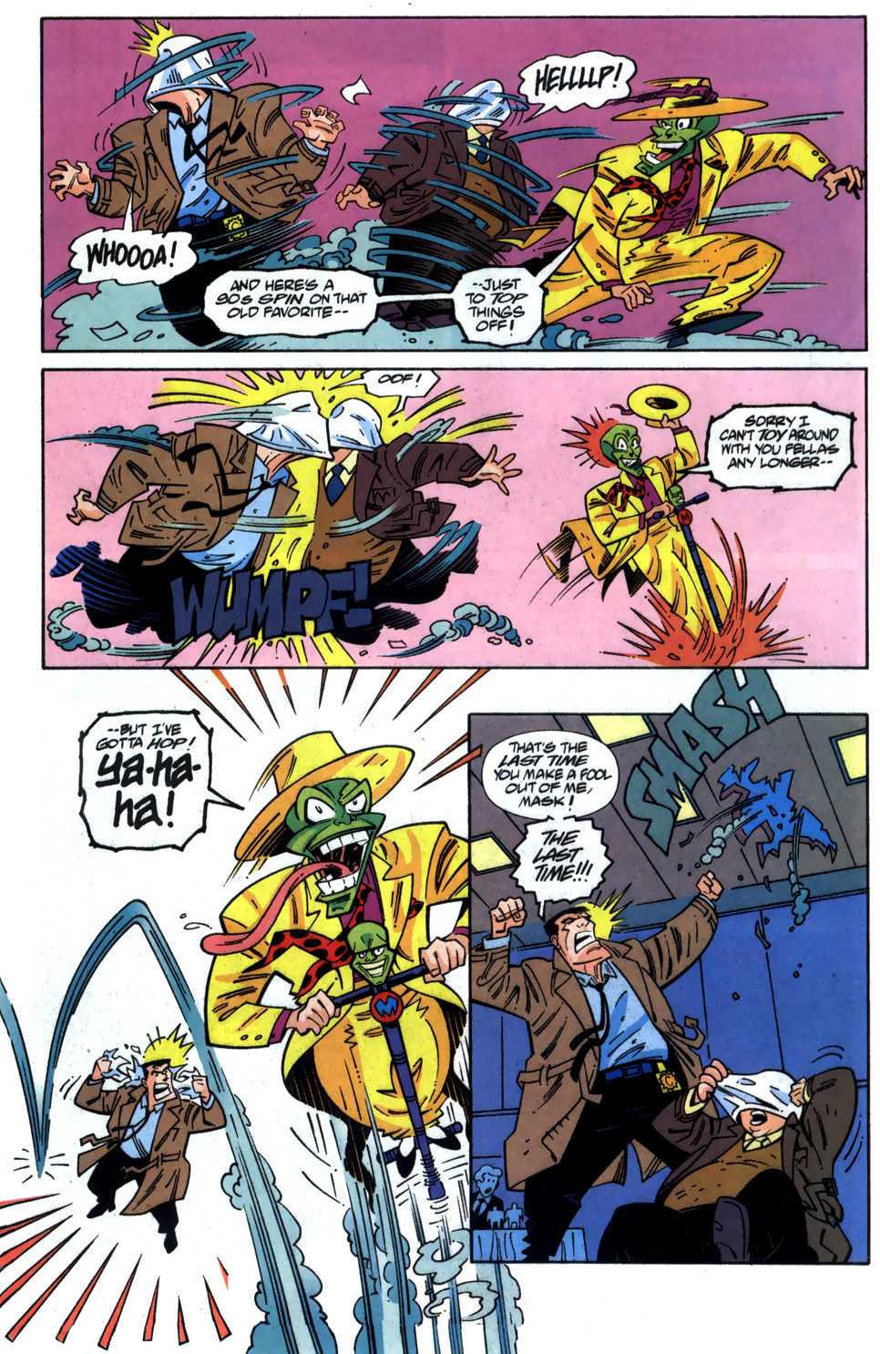 Read online Adventures Of The Mask comic -  Issue #6 - 7