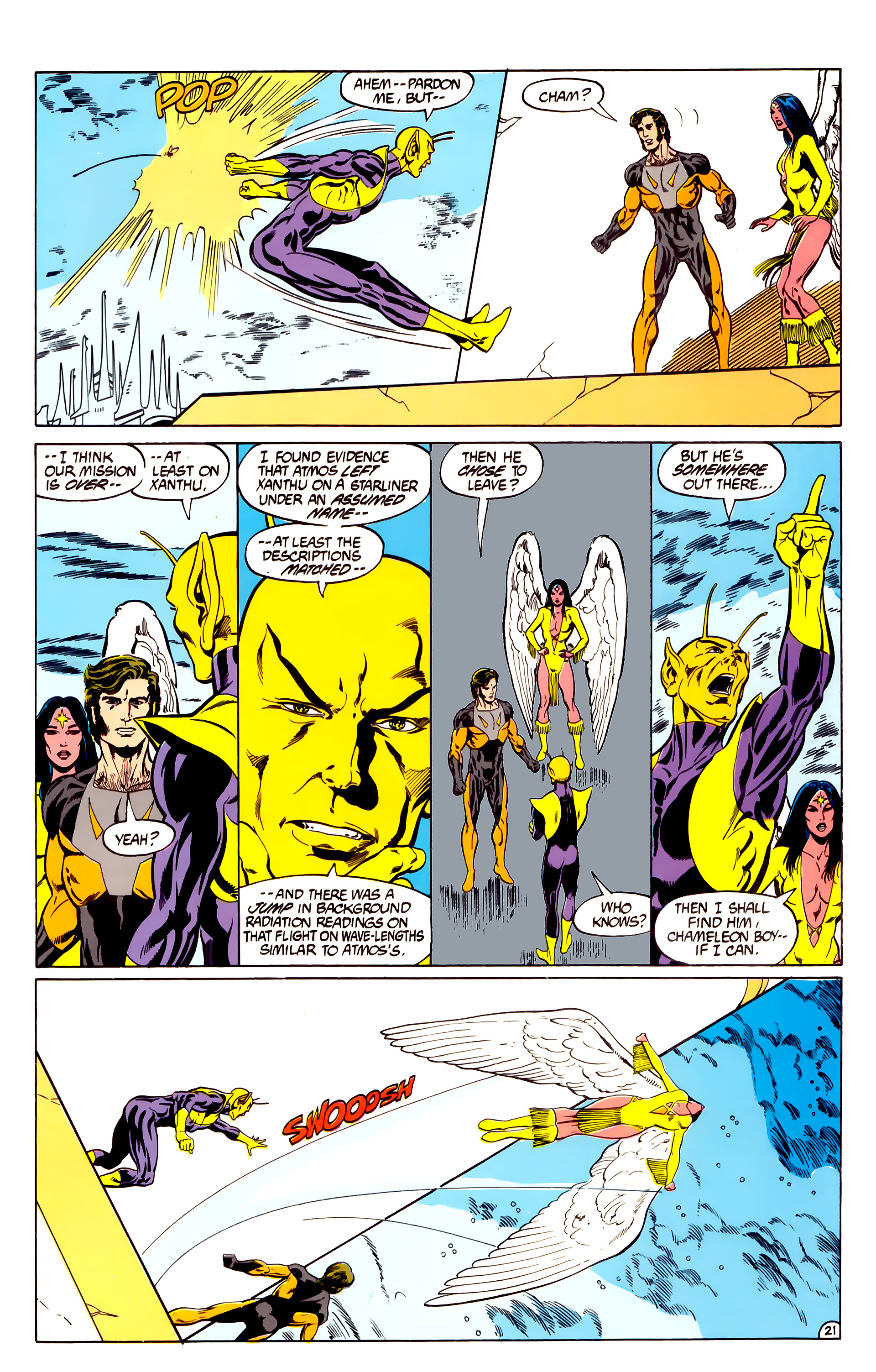 Legion of Super-Heroes (1984) 28 Page 22