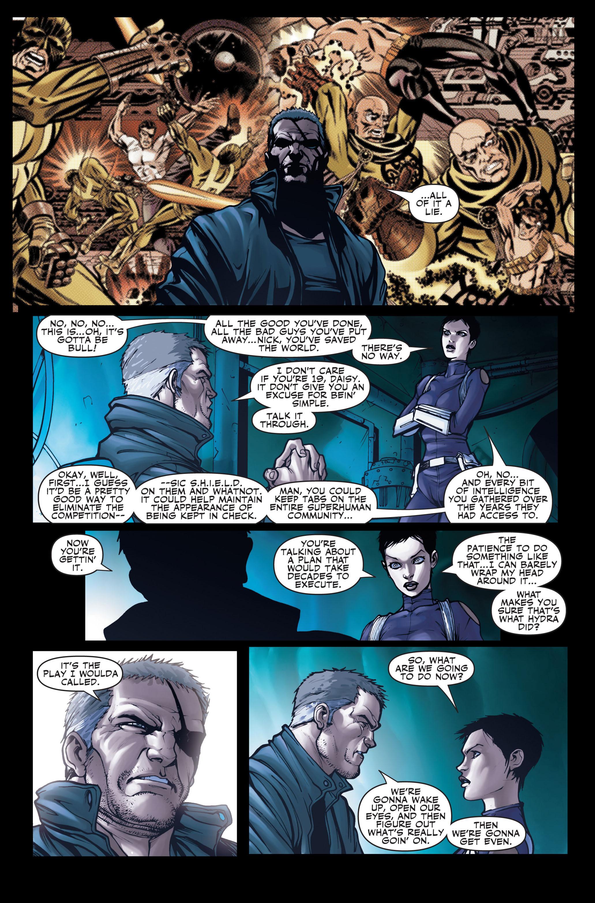 Read online Secret Warriors comic -  Issue #2 - 10