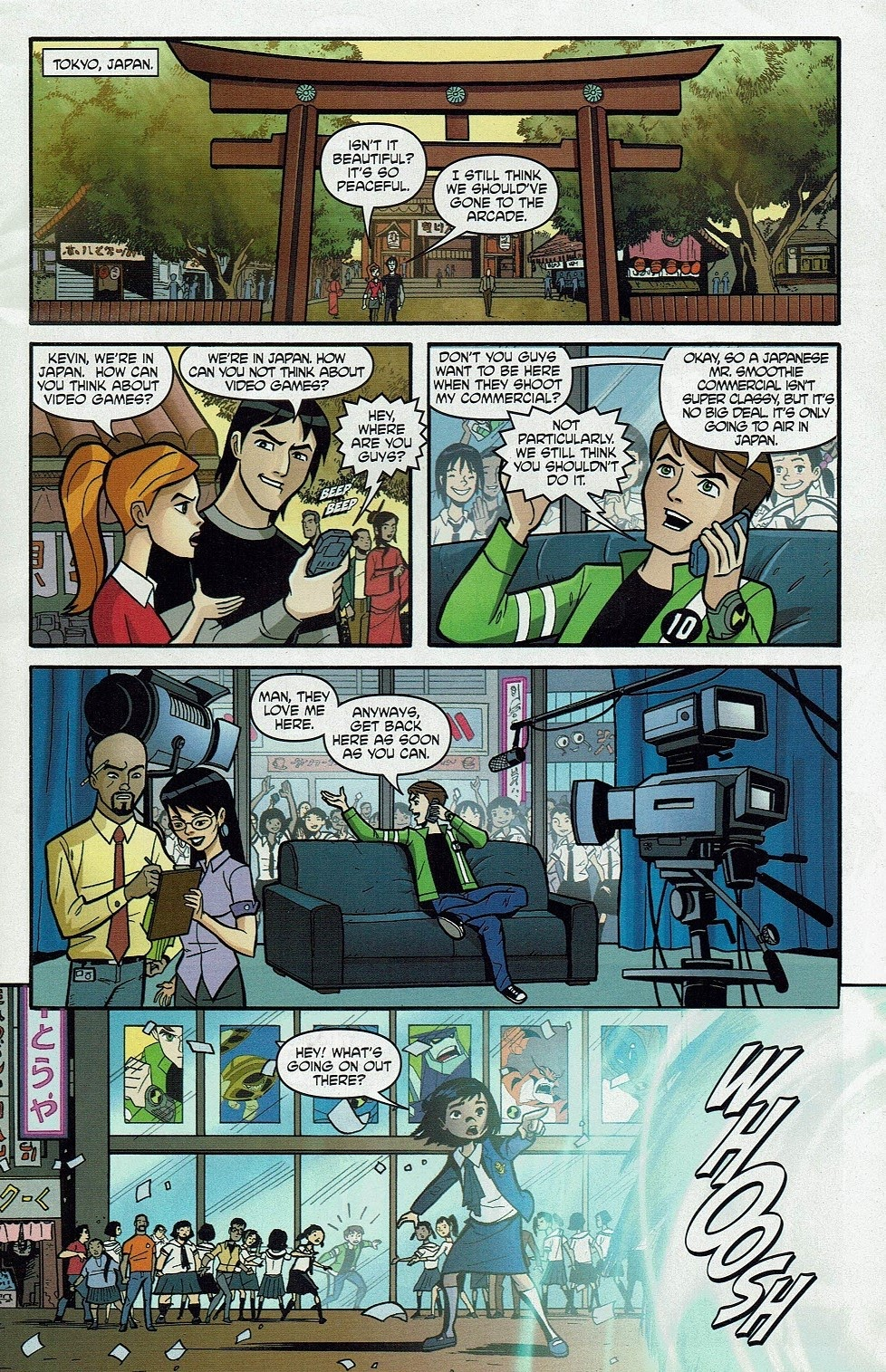 Read online Cartoon Network Action Pack comic -  Issue #65 - 3