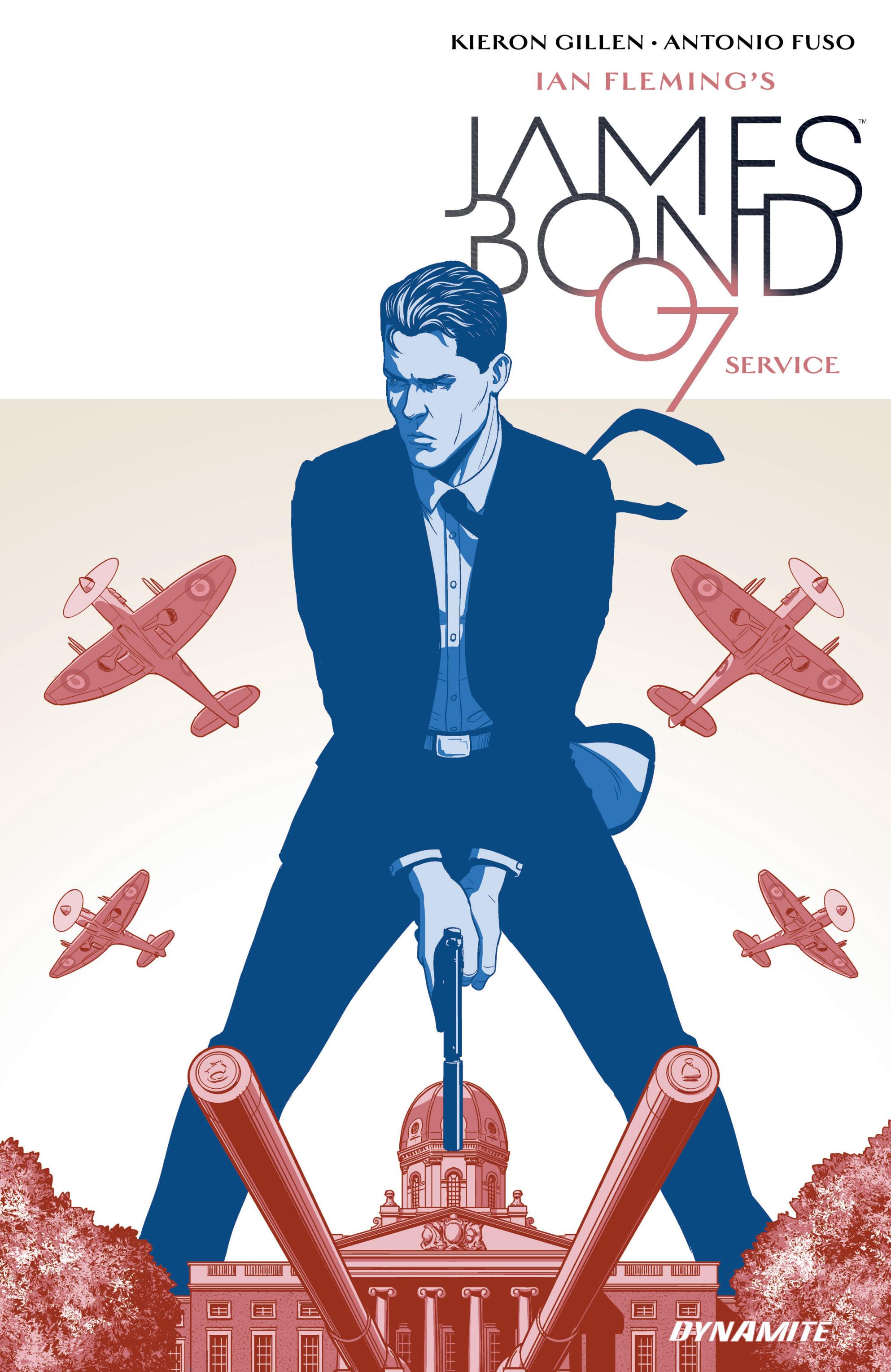 Read online James Bond: Service comic -  Issue # Full - 1
