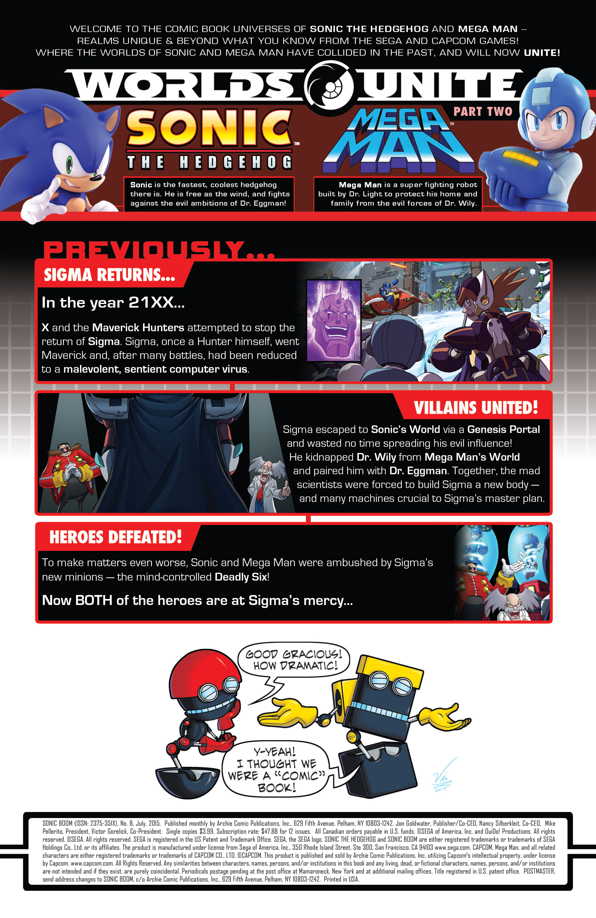 Read online Sonic Boom comic -  Issue #8 - 2