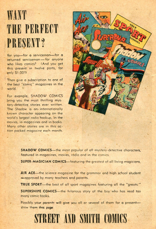 Read online Shadow Comics comic -  Issue #60 - 30