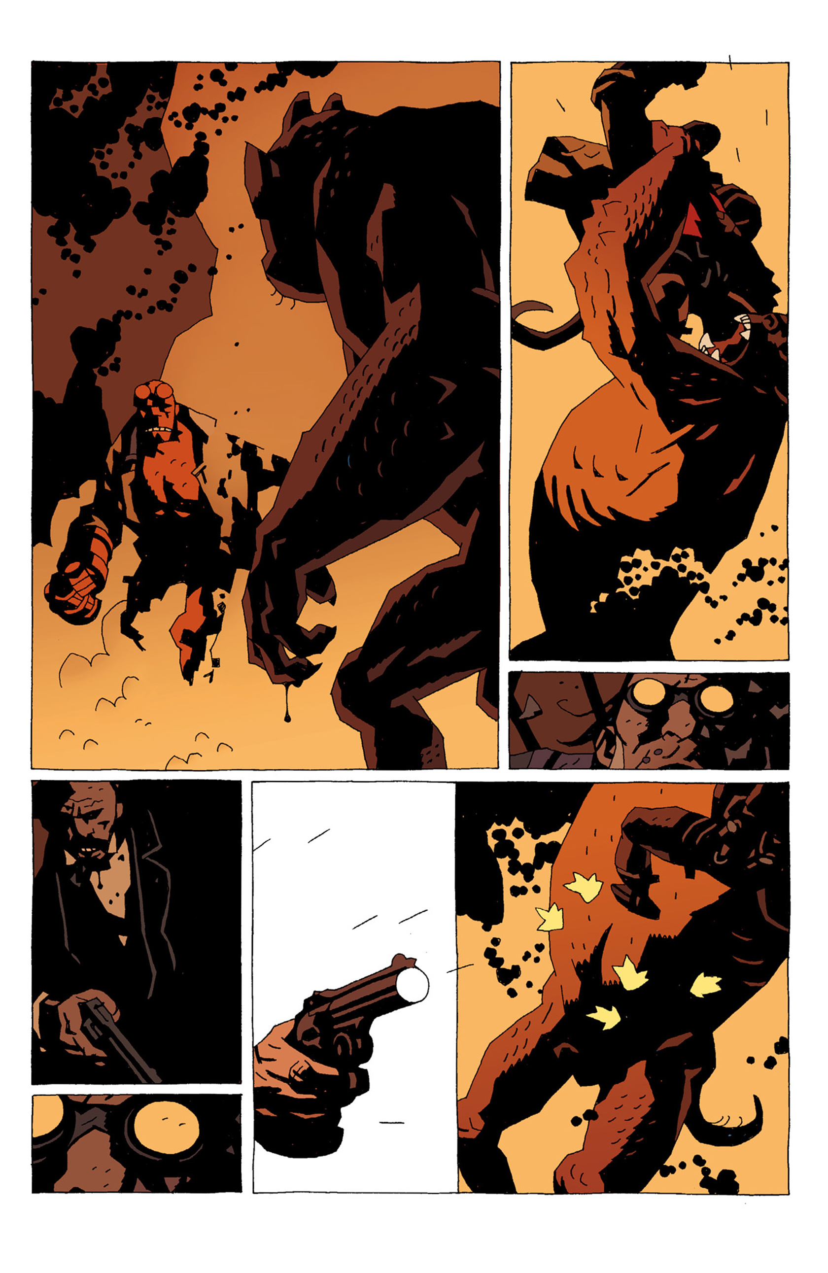 Read online Hellboy: The Troll Witch and Others comic -  Issue # TPB - 65