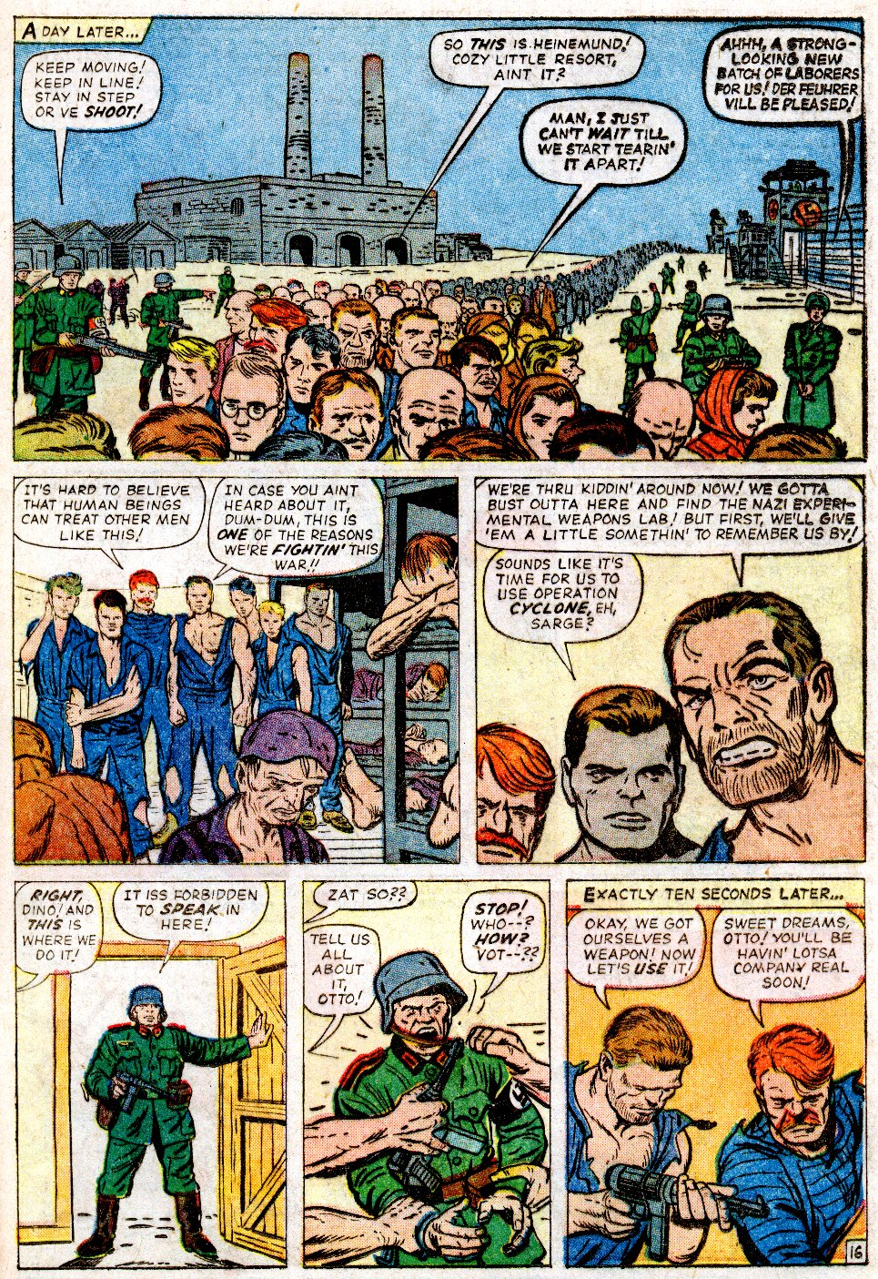 Read online Sgt. Fury comic -  Issue #2 - 21