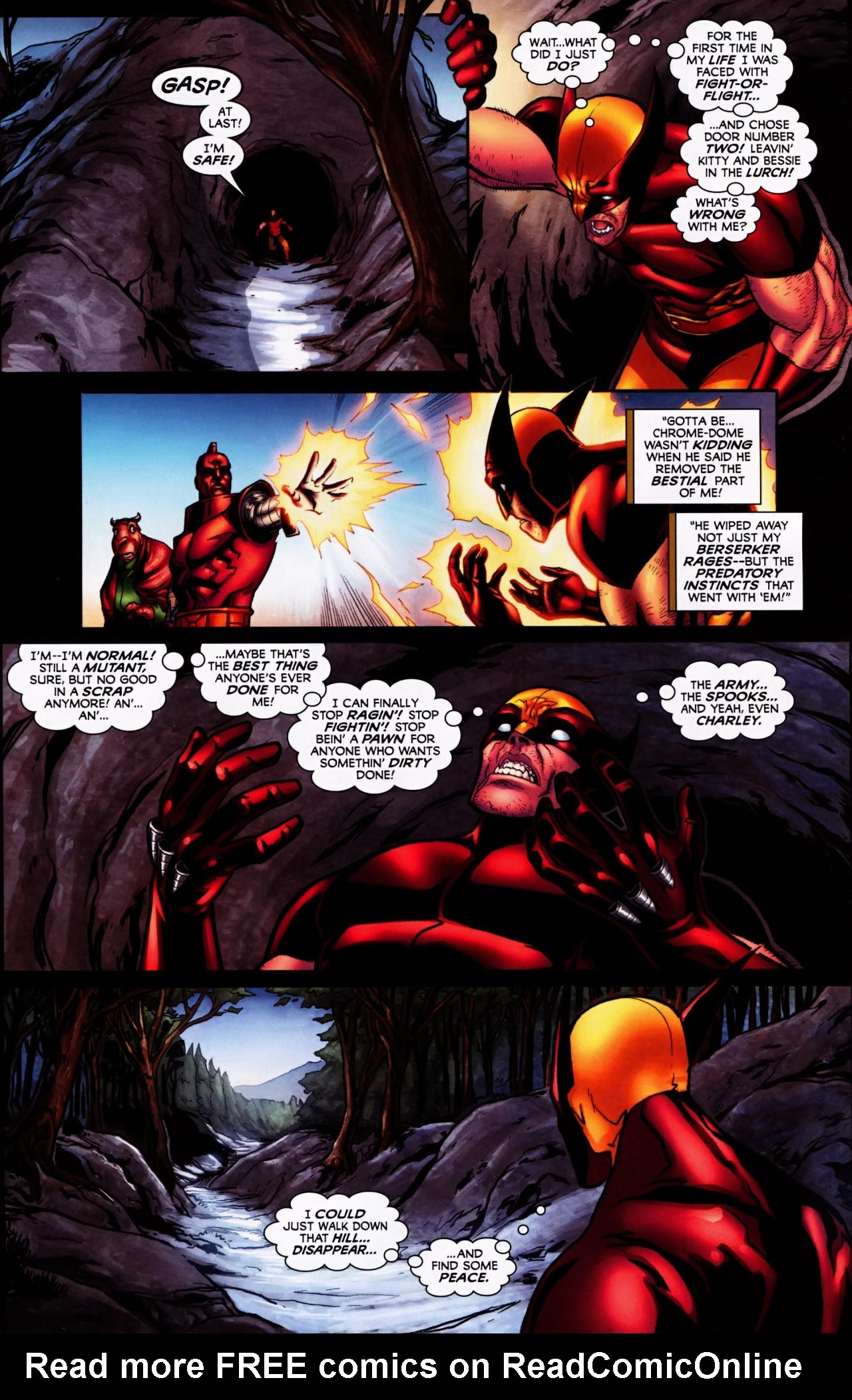 Read online Wolverine: First Class comic -  Issue #4 - 12