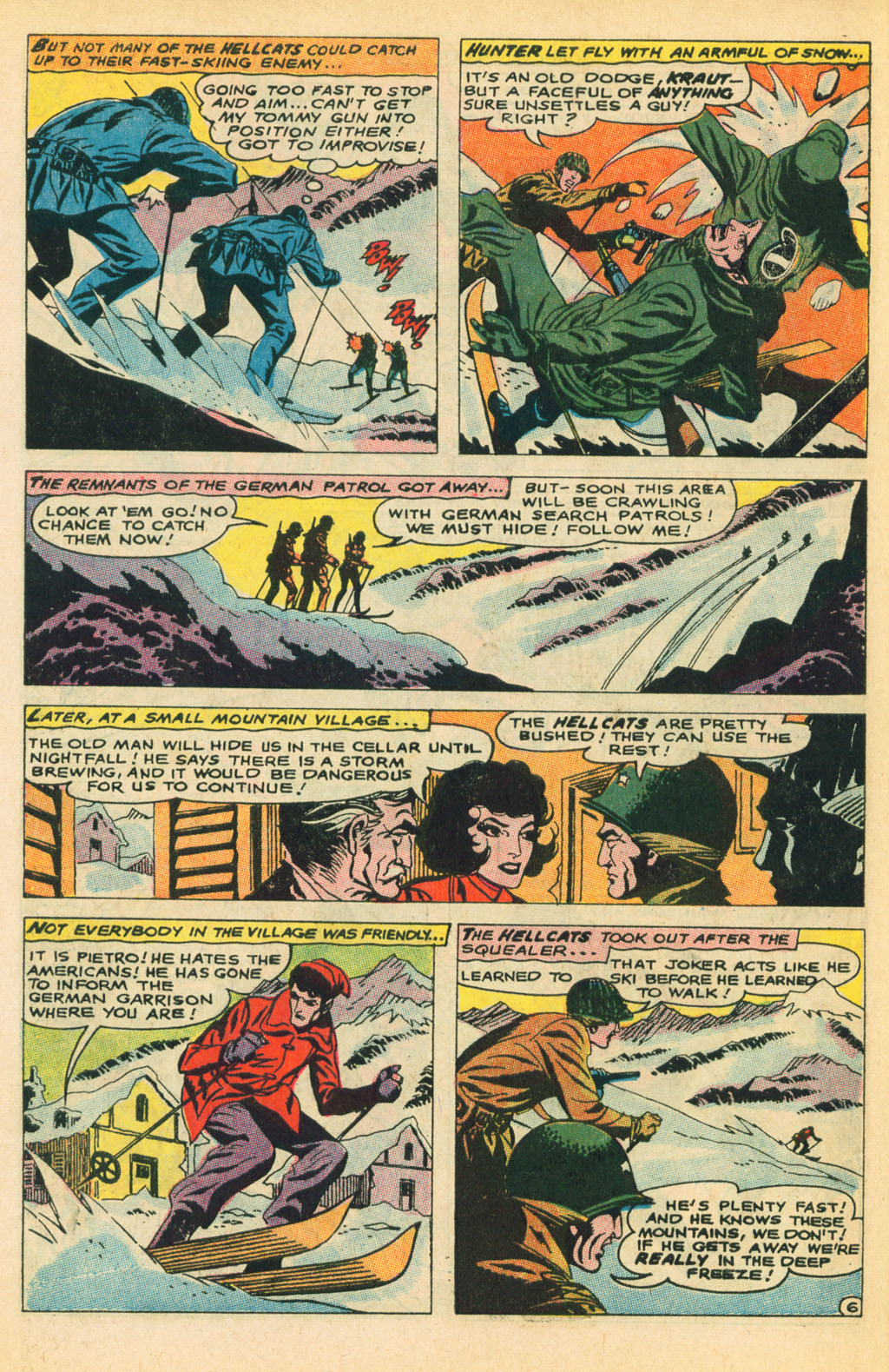 Our Fighting Forces (1954) issue 110 - Page 10