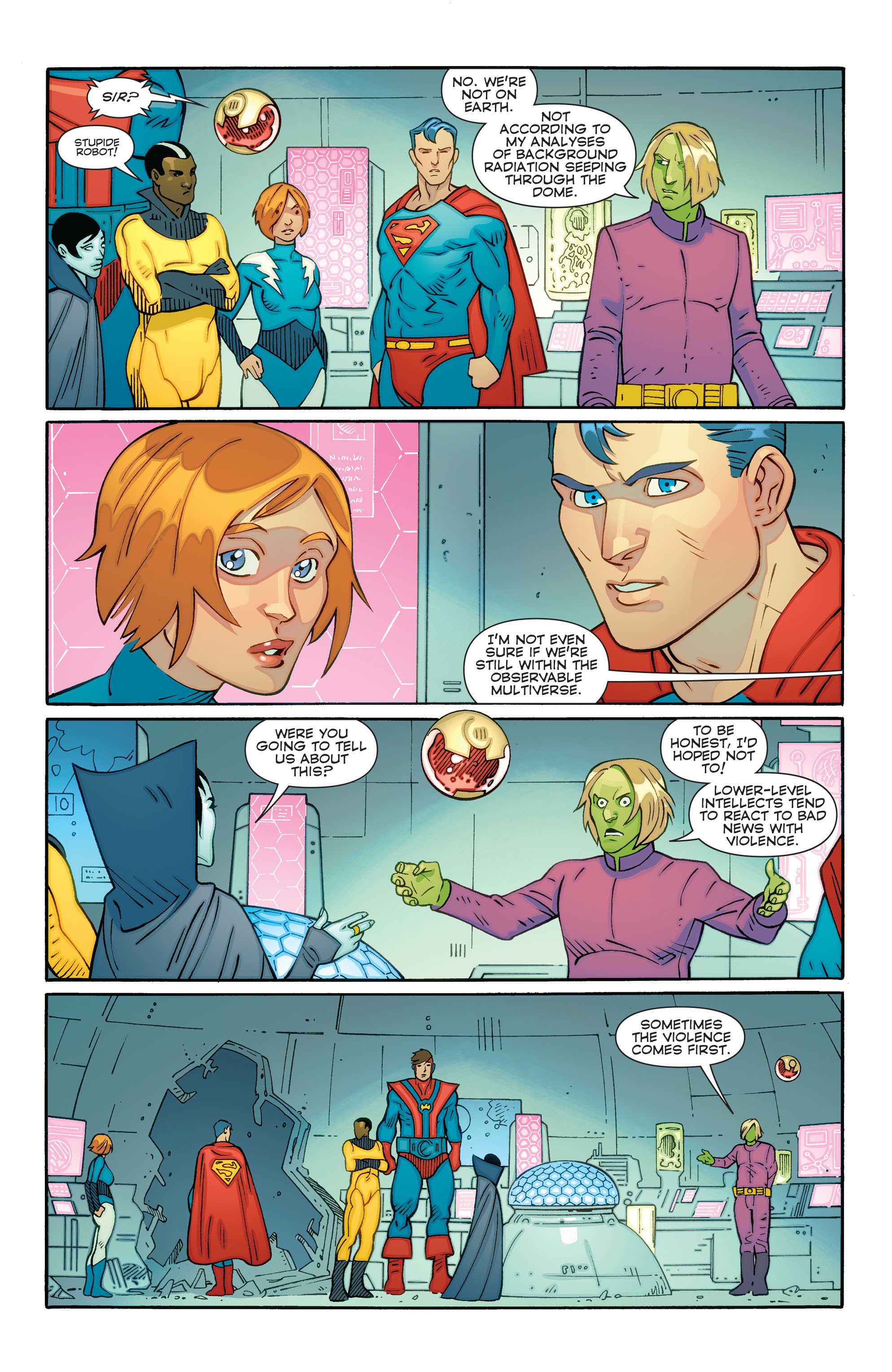 Read online Convergence Superboy and the Legion of Super-Heroes comic -  Issue #1 - 11