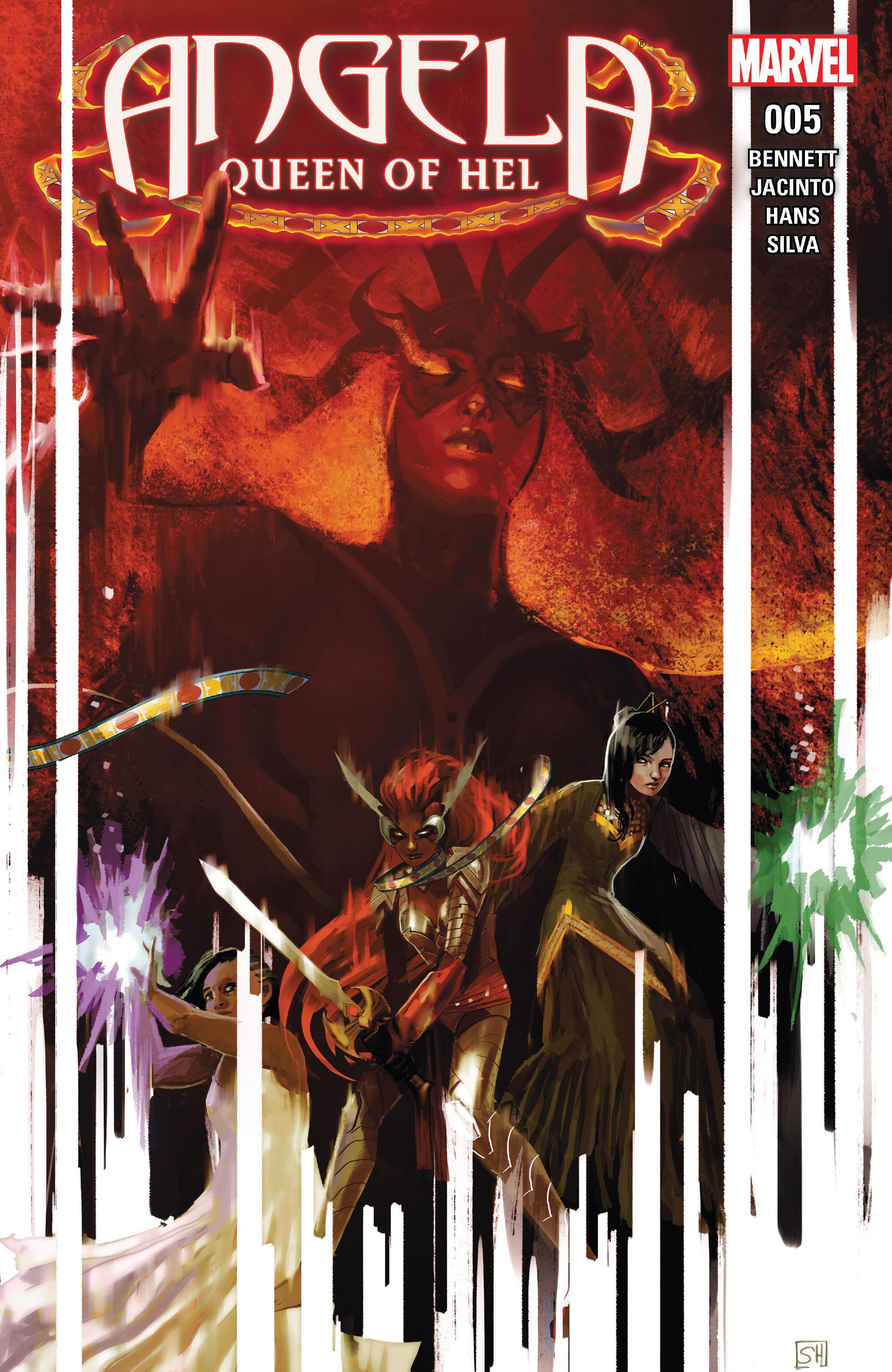 Read online Angela: Queen Of Hel comic -  Issue #5 - 1