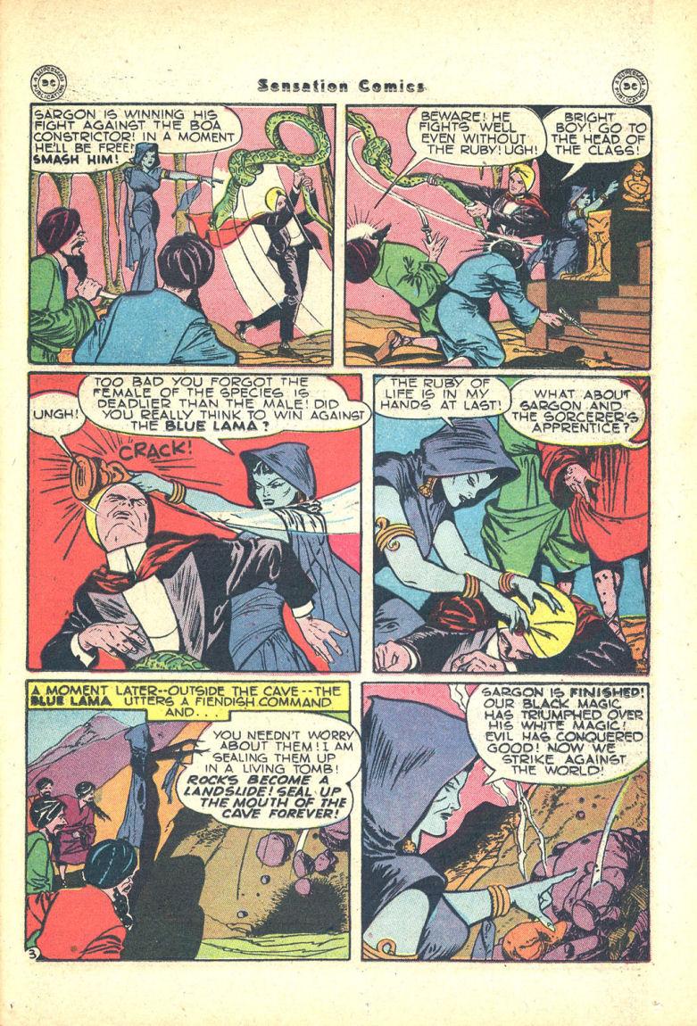 Read online Sensation (Mystery) Comics comic -  Issue #68 - 35