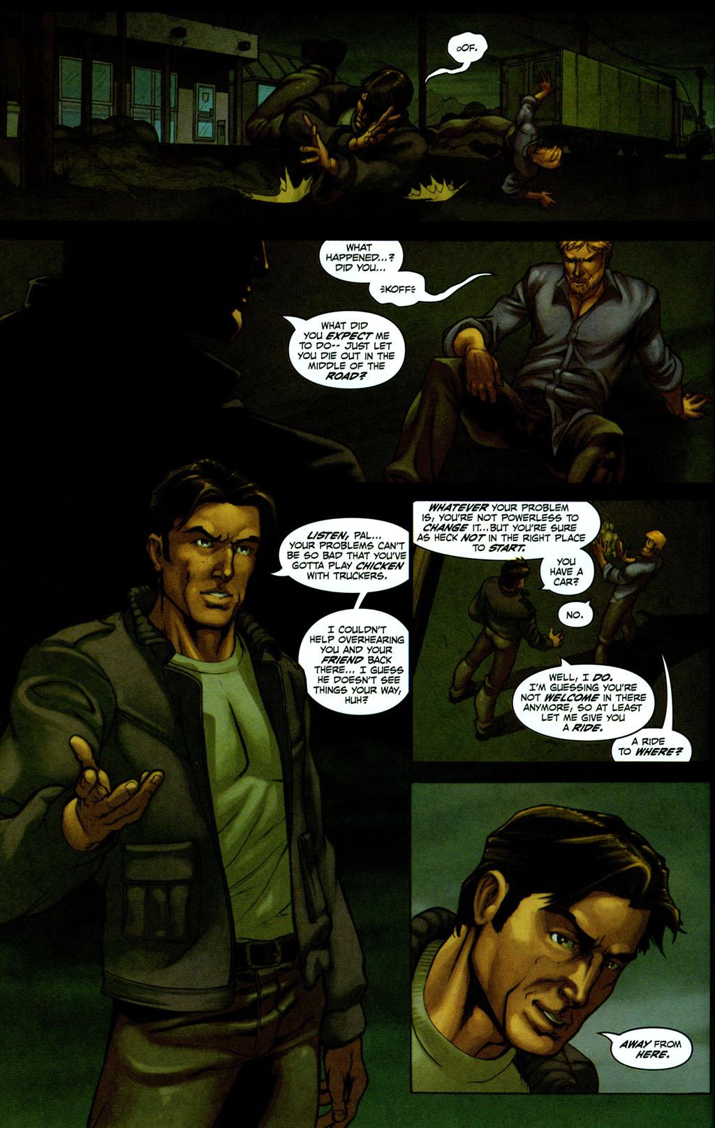 Read online Snake Eyes: Declassified comic -  Issue #2 - 8