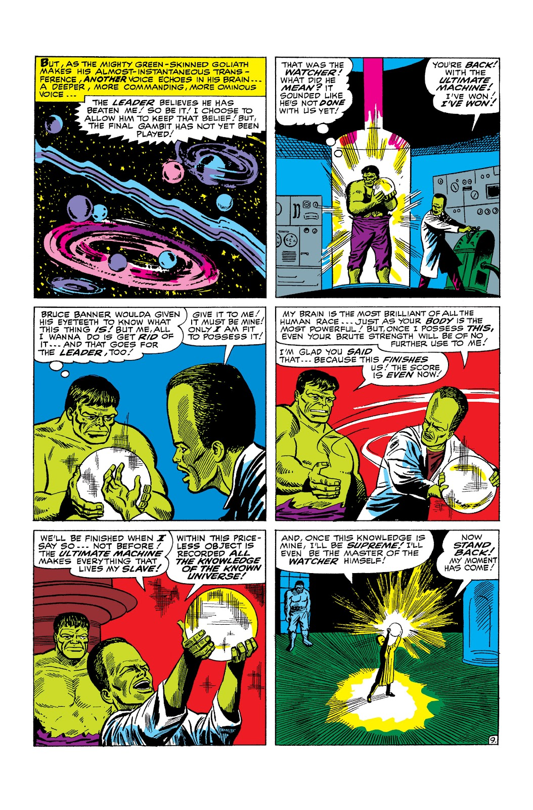Read online Marvel Masterworks: The Incredible Hulk comic -  Issue # TPB 2 (Part 2) - 87