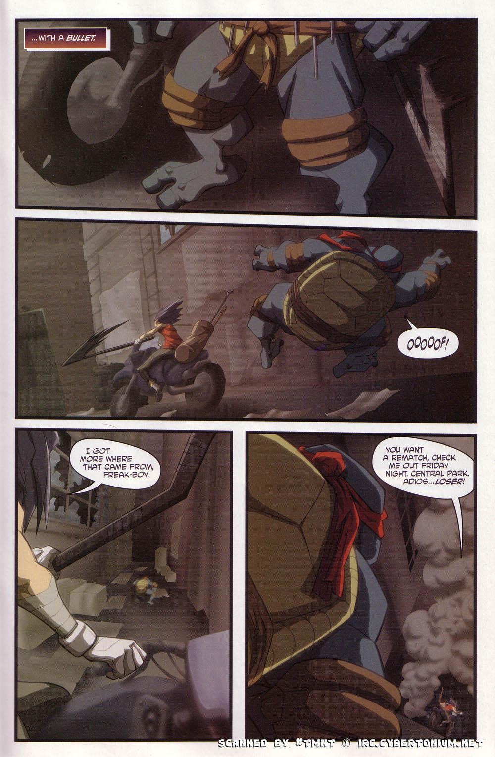 Teenage Mutant Ninja Turtles (2003) issue 4 - Page 21