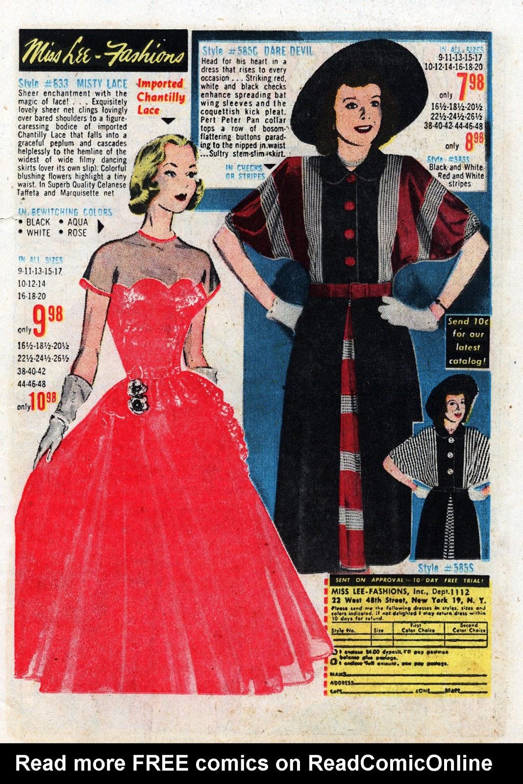 Love Romances (1949) issue 19 - Page 25