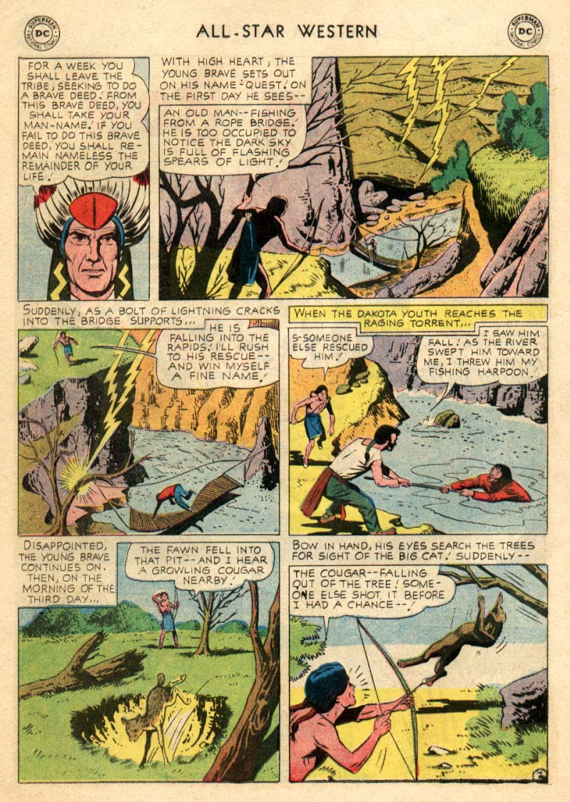 Read online All-Star Western (1951) comic -  Issue #97 - 10