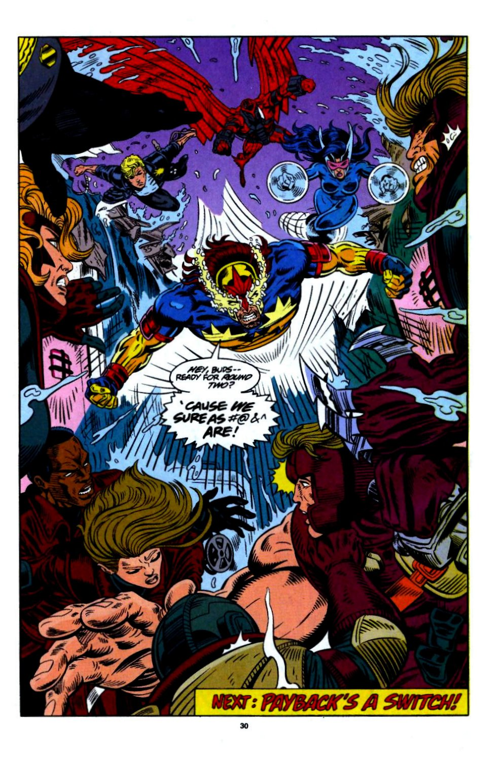 The New Warriors Issue #55 #59 - English 23