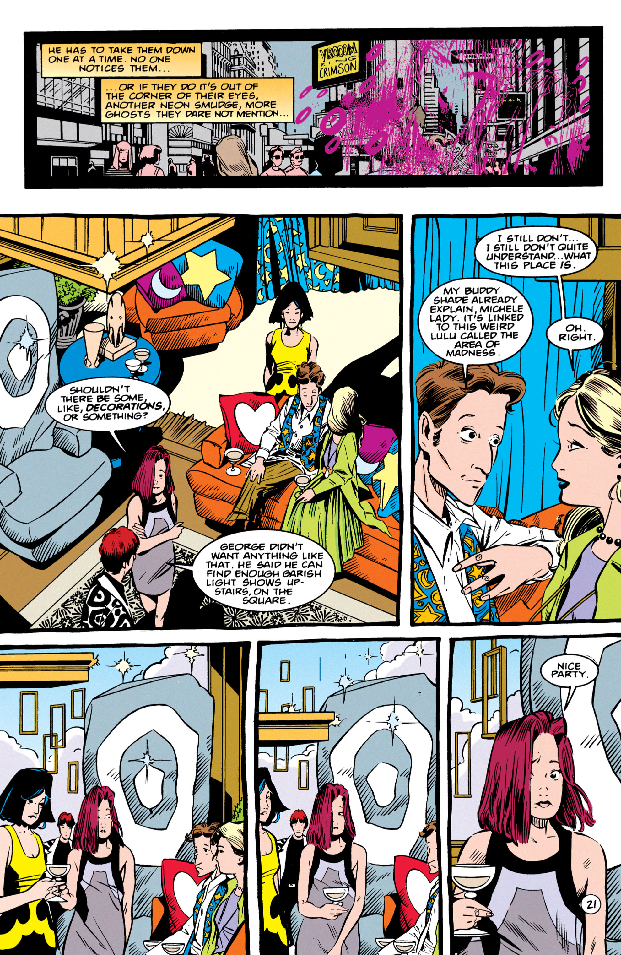 Read online Shade, the Changing Man comic -  Issue #56 - 22