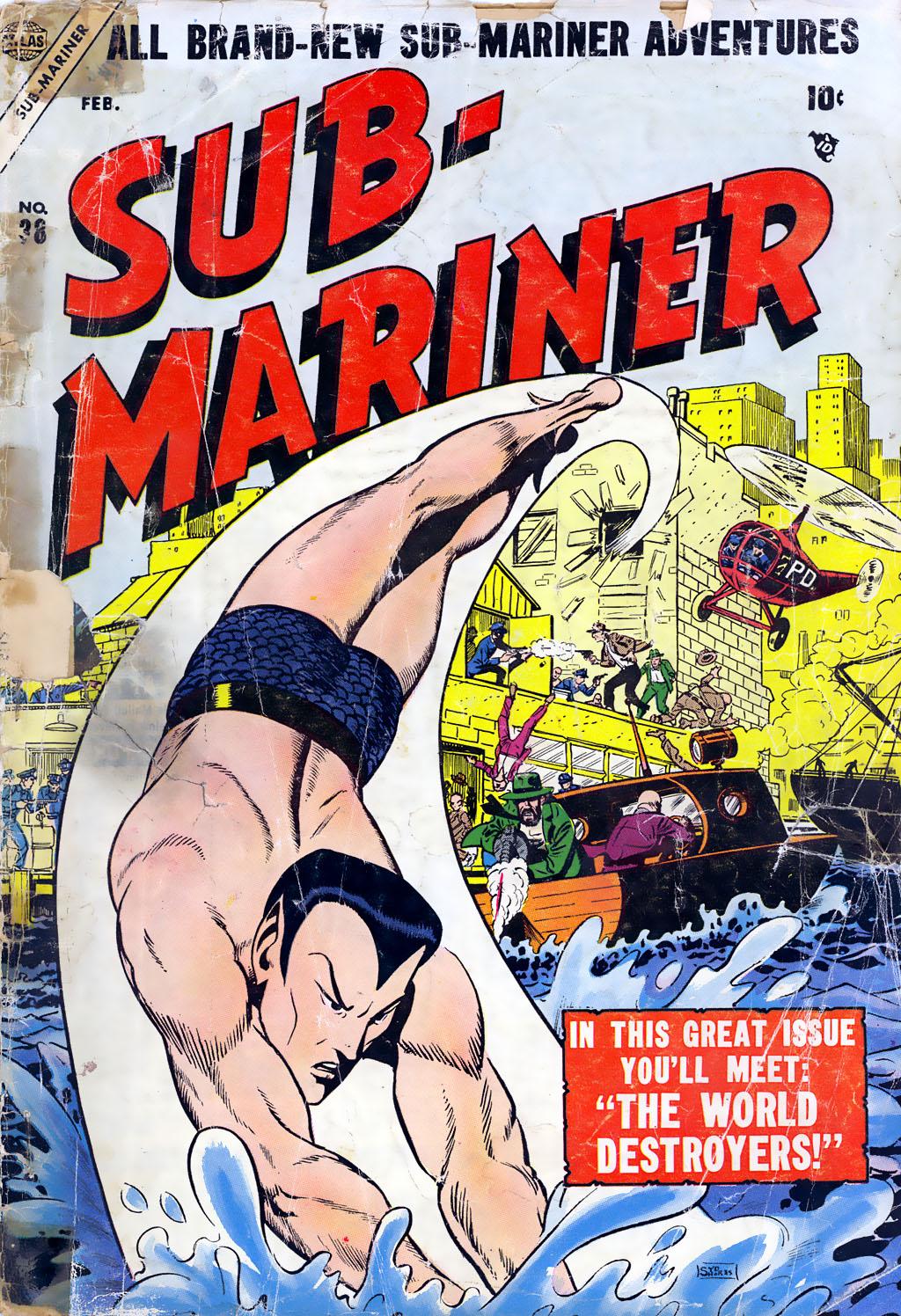 Sub-Mariner Comics 38 Page 2