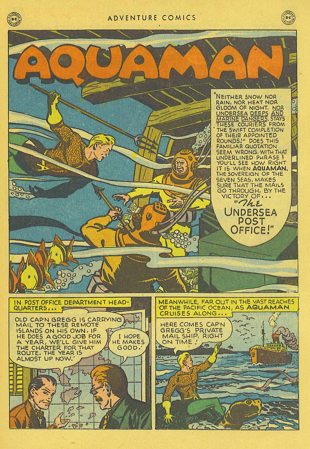 Read online Adventure Comics (1938) comic -  Issue #131 - 12