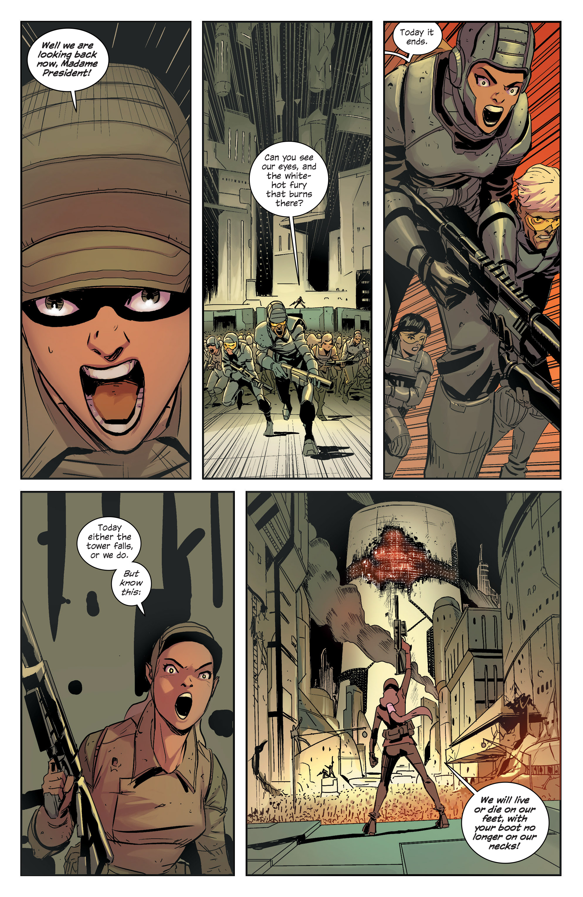 Read online East Of West comic -  Issue #33 - 13