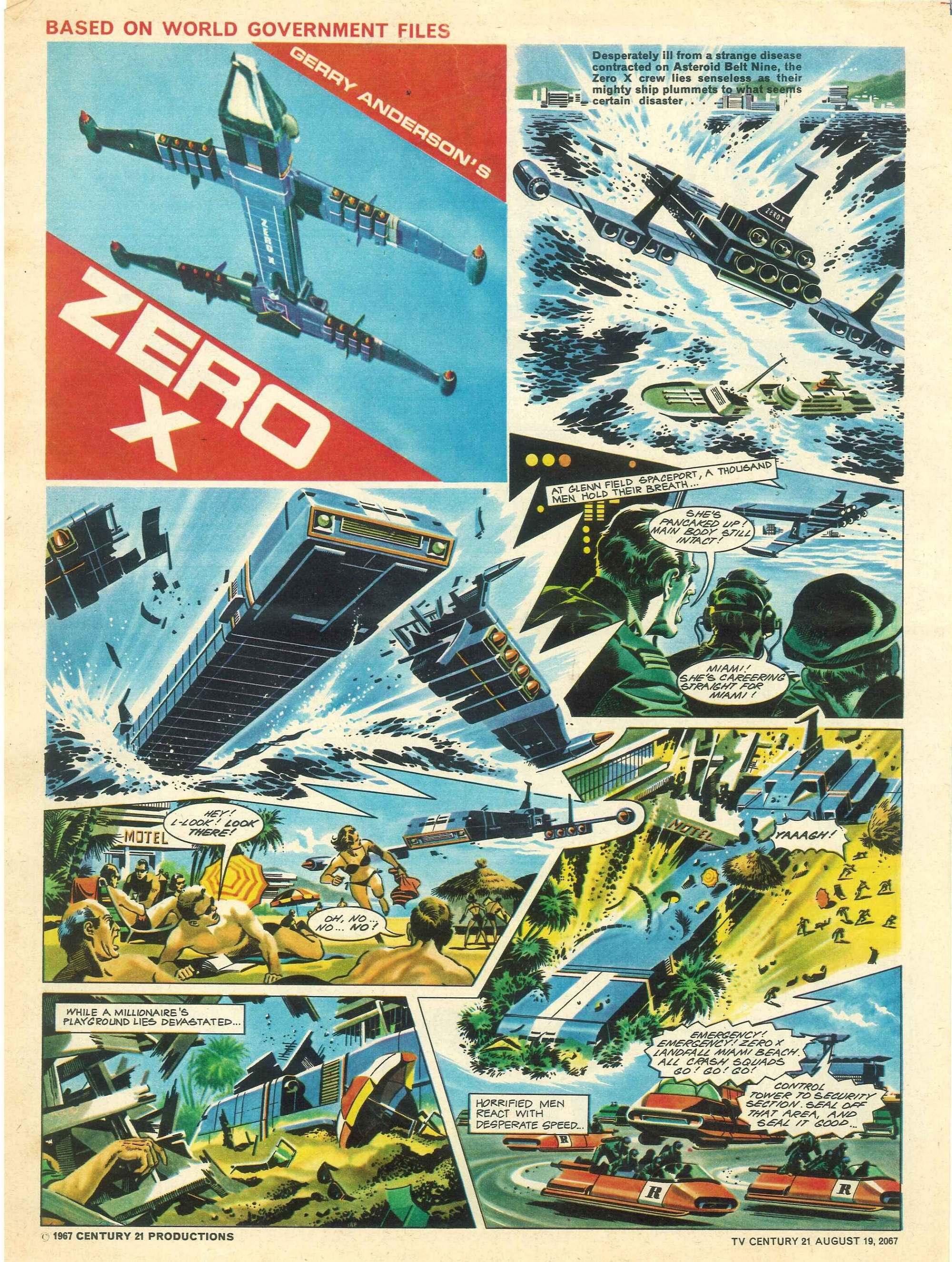 Read online TV Century 21 (TV 21) comic -  Issue #135 - 4