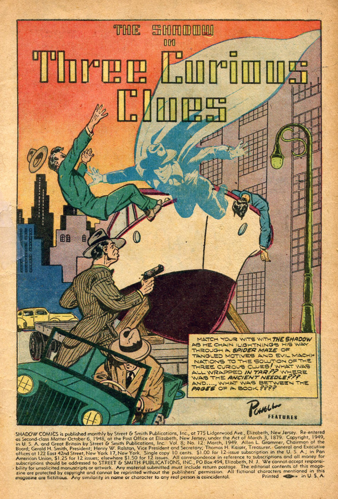 Read online Shadow Comics comic -  Issue #96 - 3