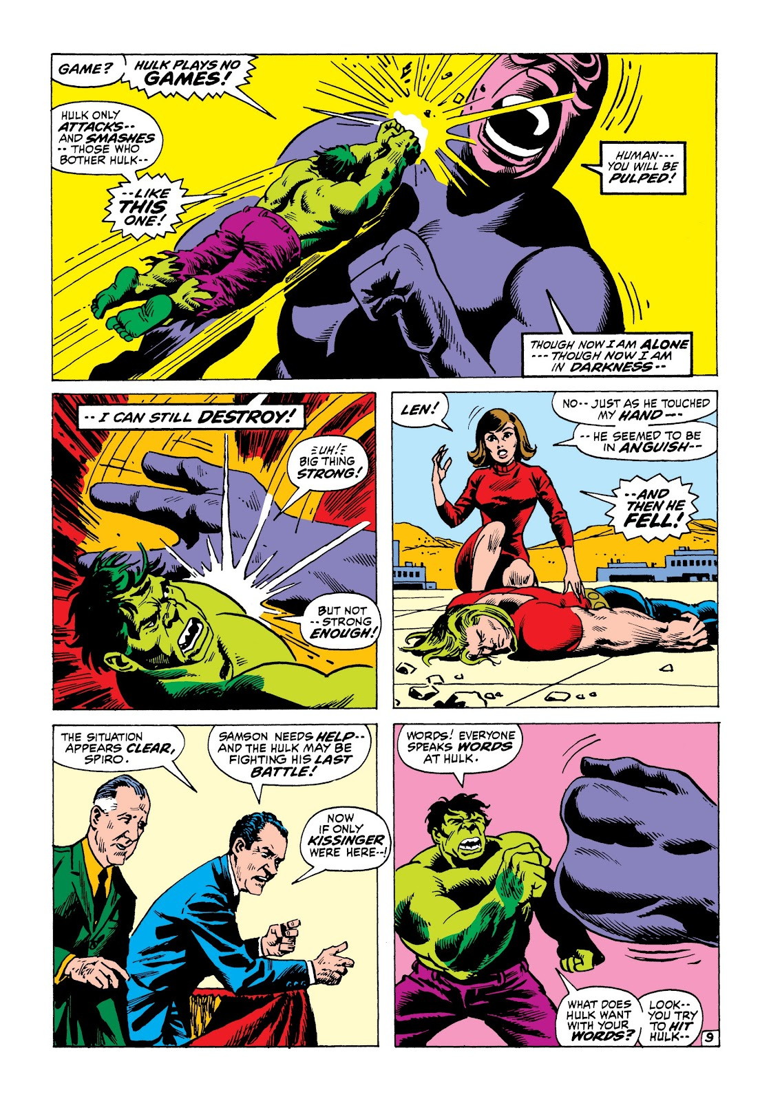 Read online Marvel Masterworks: The Incredible Hulk comic -  Issue # TPB 8 (Part 1) - 72