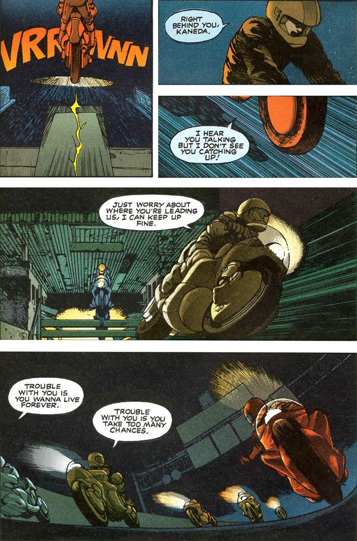 Read online Akira comic -  Issue #1 - 12