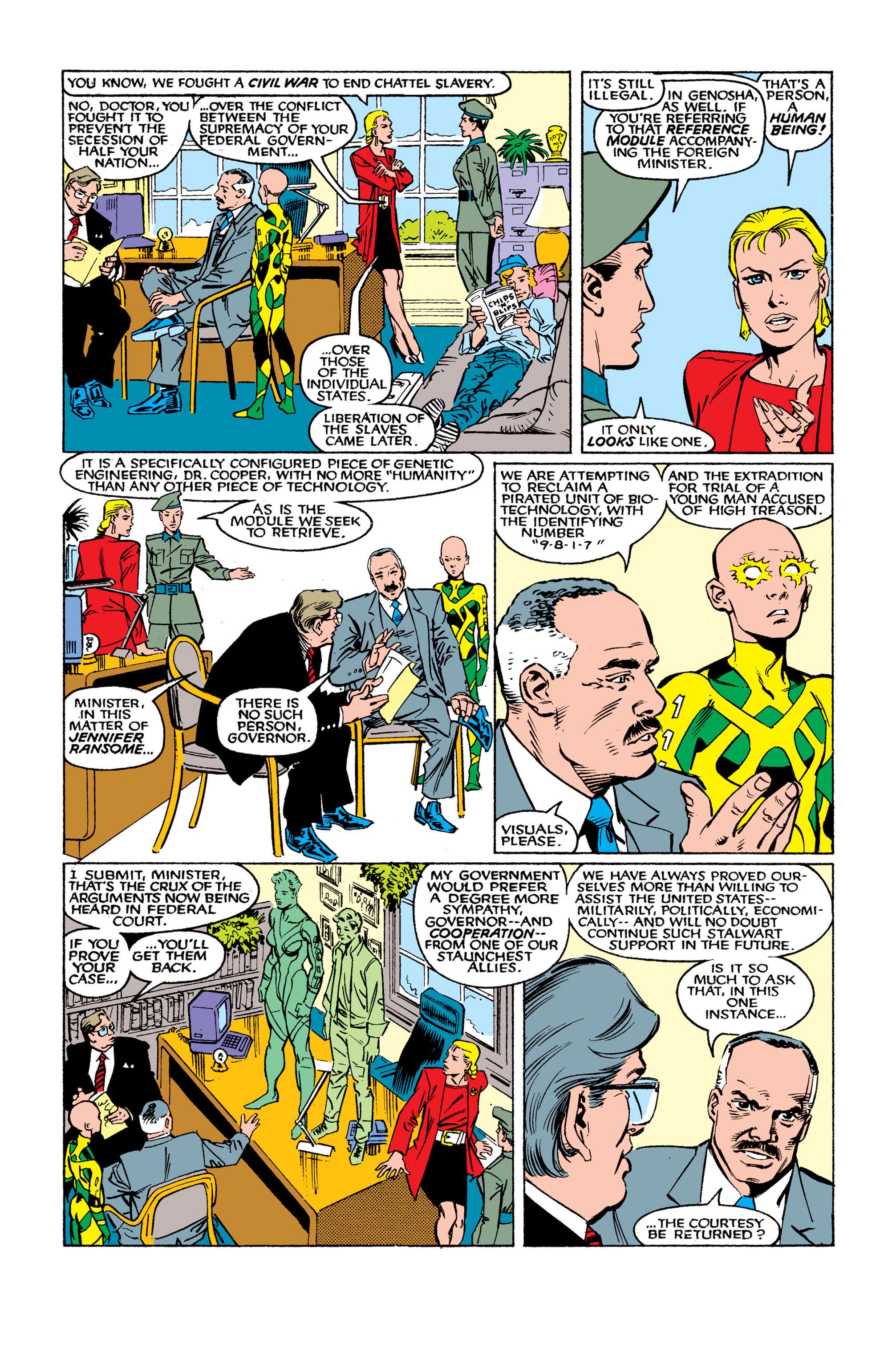 Read online Uncanny X-Men (1963) comic -  Issue #262 - 11
