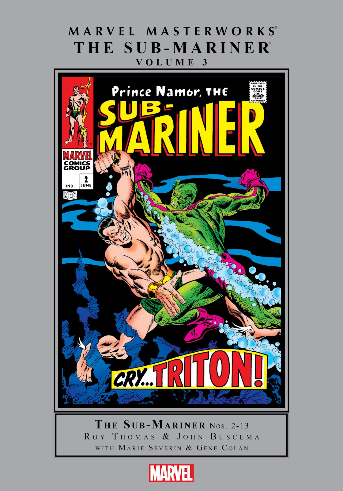 Marvel Masterworks: The Sub-Mariner TPB_3_(Part_1) Page 1