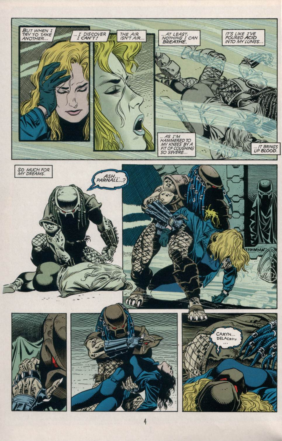Read online Aliens/Predator: The Deadliest of the Species comic -  Issue #5 - 5