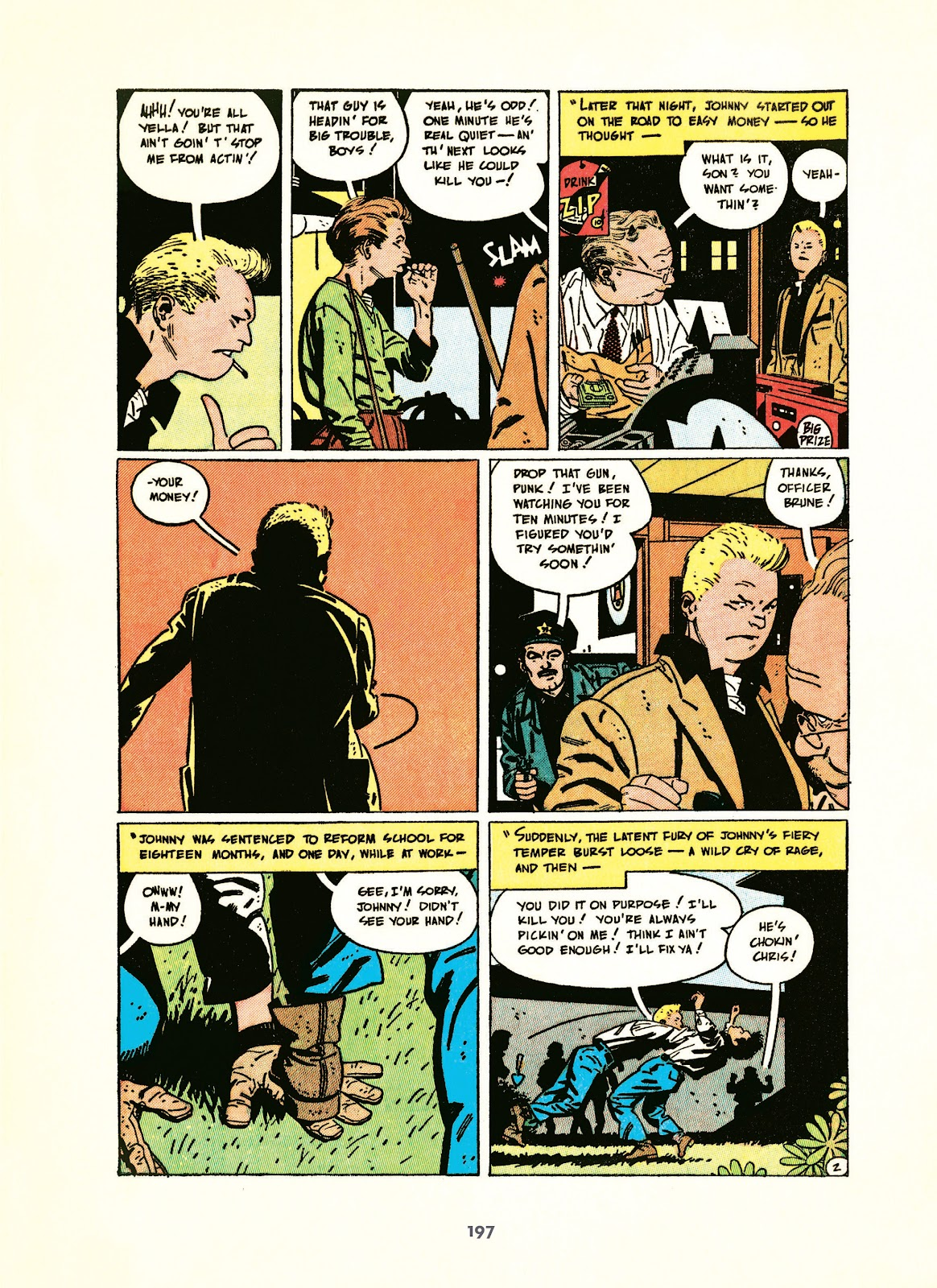 Read online Setting the Standard: Comics by Alex Toth 1952-1954 comic -  Issue # TPB (Part 2) - 98
