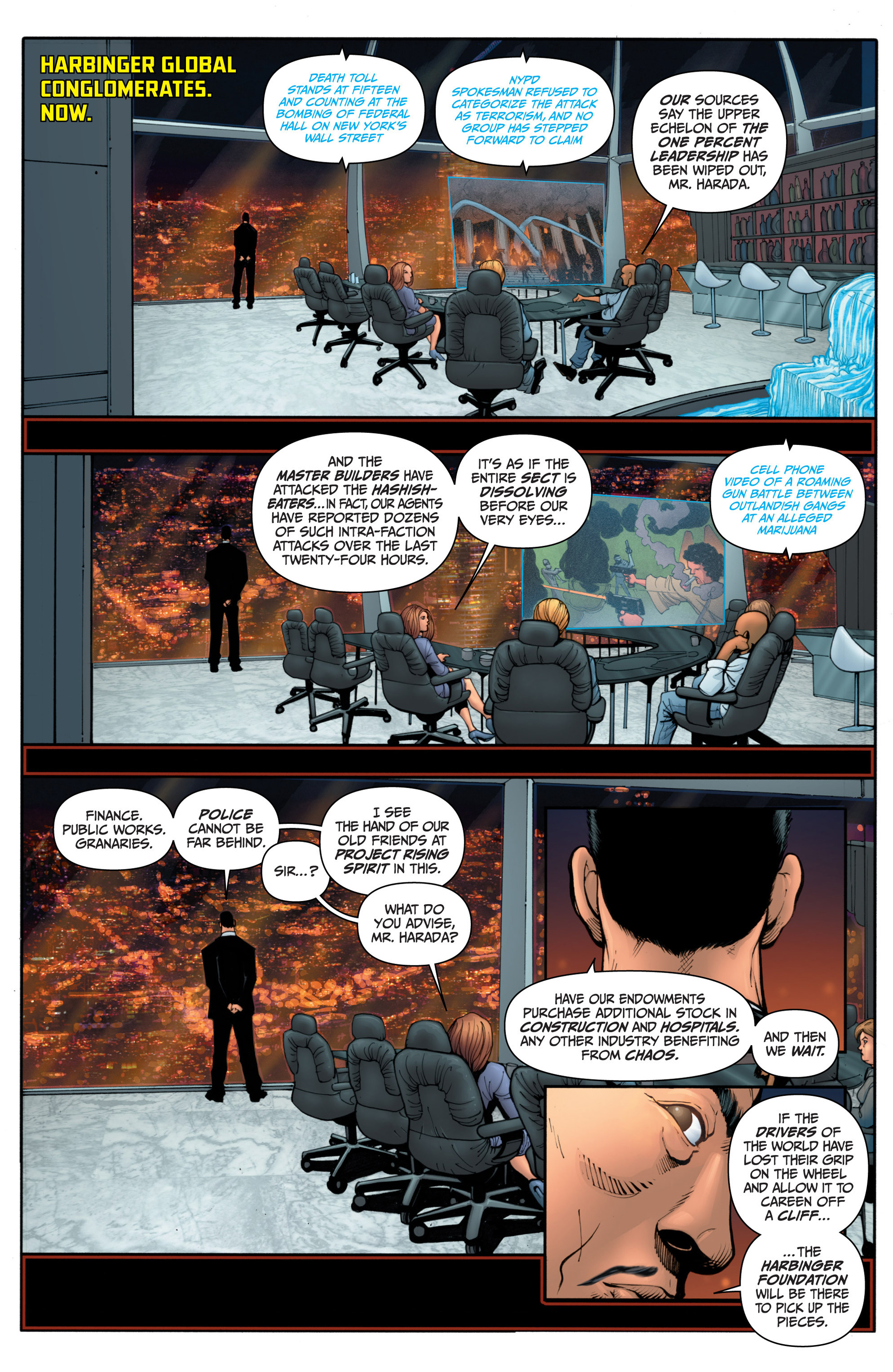 Read online Archer and Armstrong comic -  Issue #15 - 3
