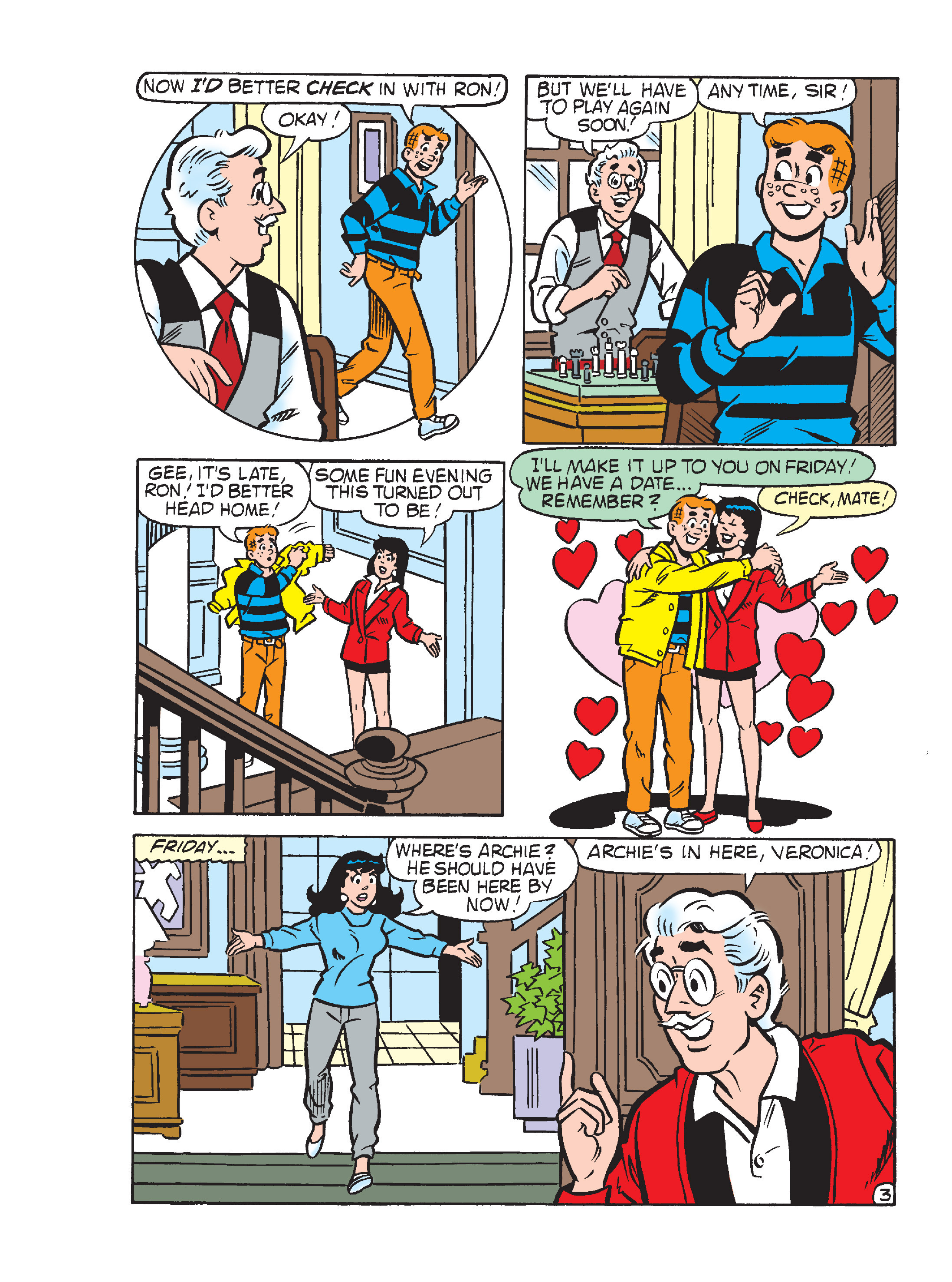 Read online Archie's Funhouse Double Digest comic -  Issue #17 - 16