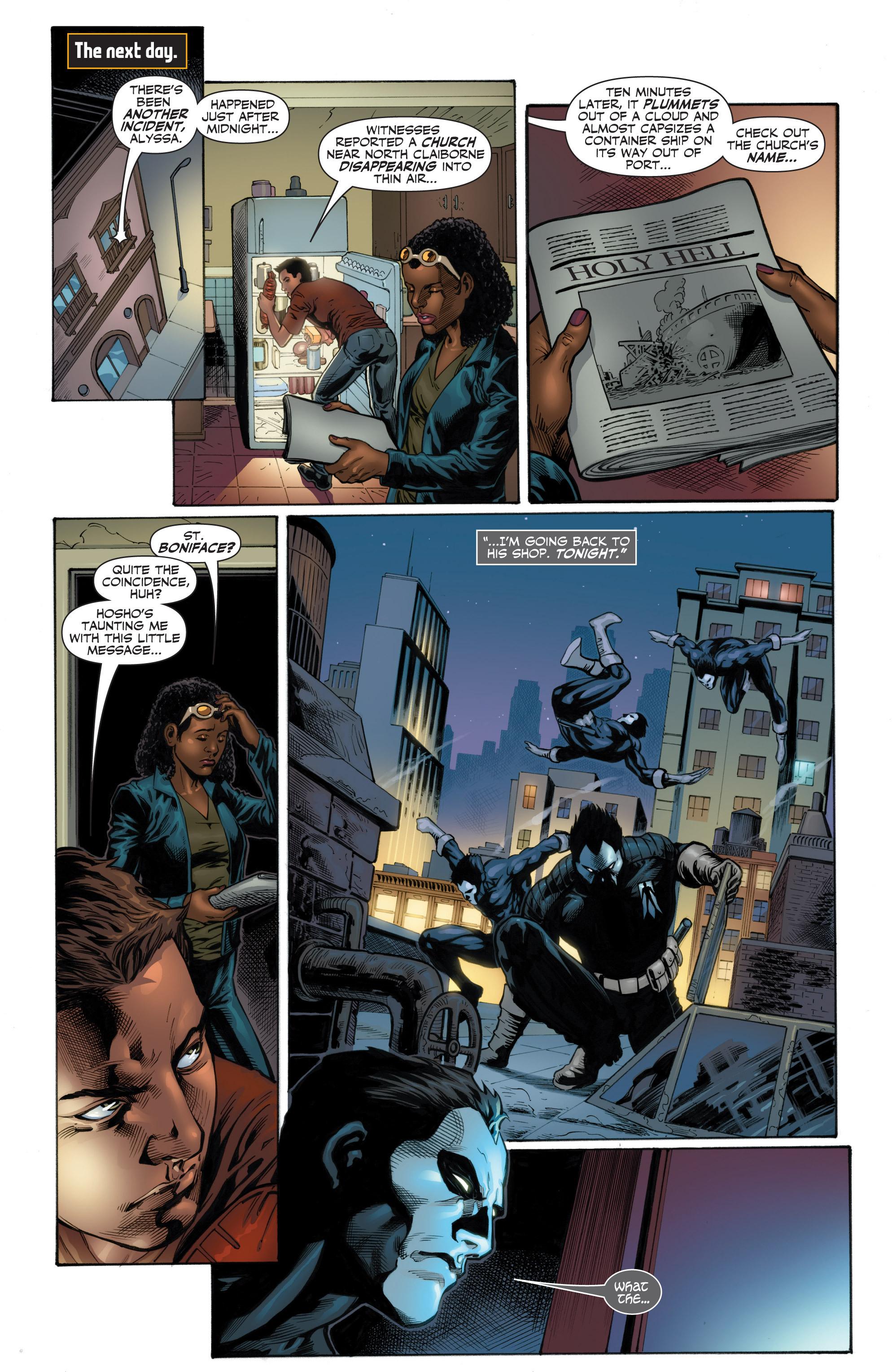 Read online Shadowman (2012) comic -  Issue #12 - 23