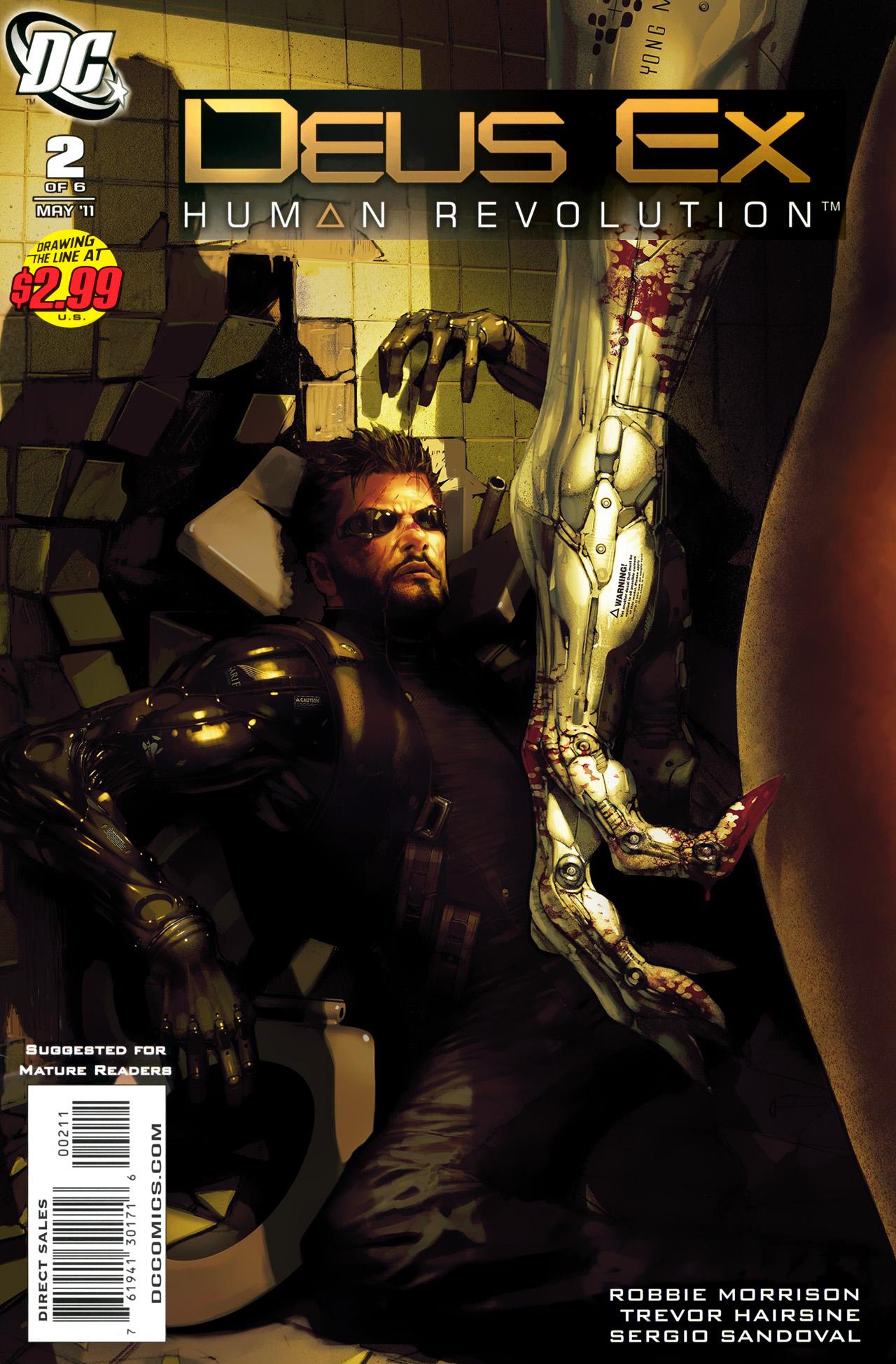 Deus Ex 2 Page 1